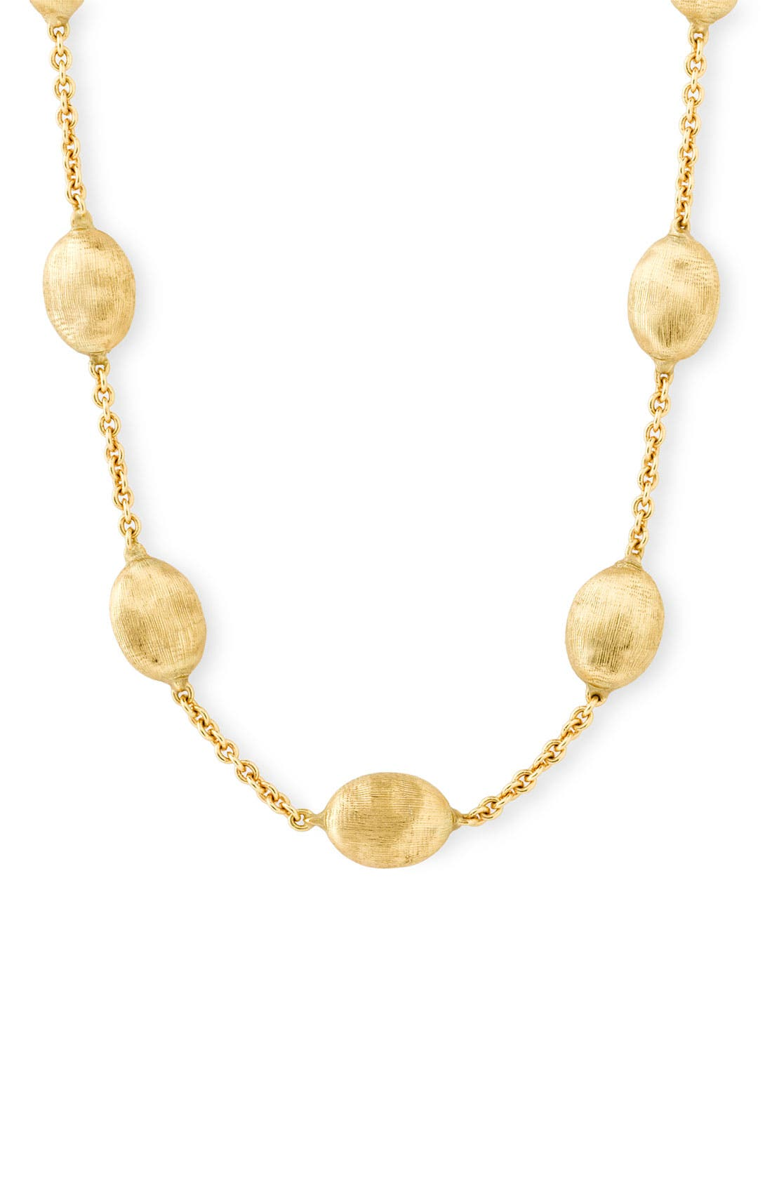 'Siviglia' Station Necklace,                             Main thumbnail 1, color,                             YELLOW GOLD
