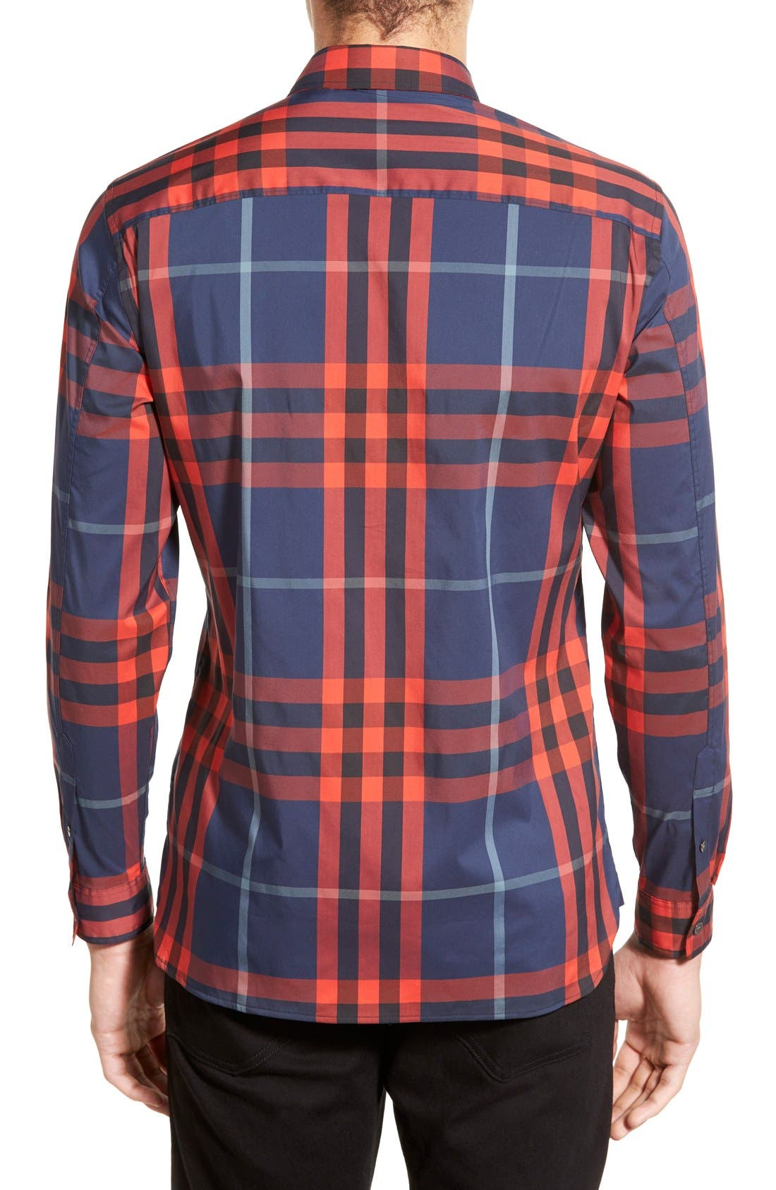 Nelson Check Sport Shirt,                             Alternate thumbnail 39, color,
