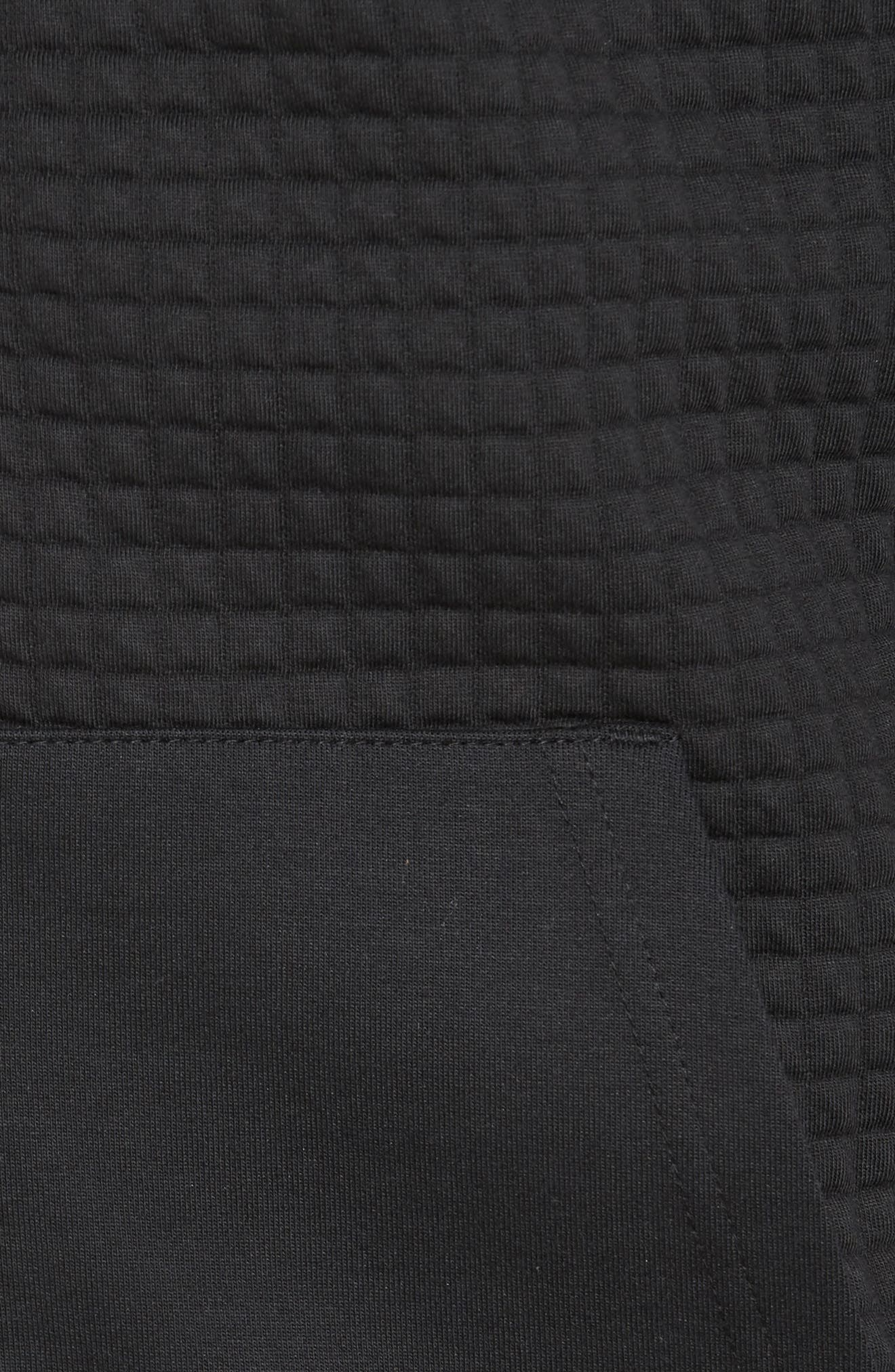 Classic Quilted Zip Hoodie,                             Alternate thumbnail 13, color,