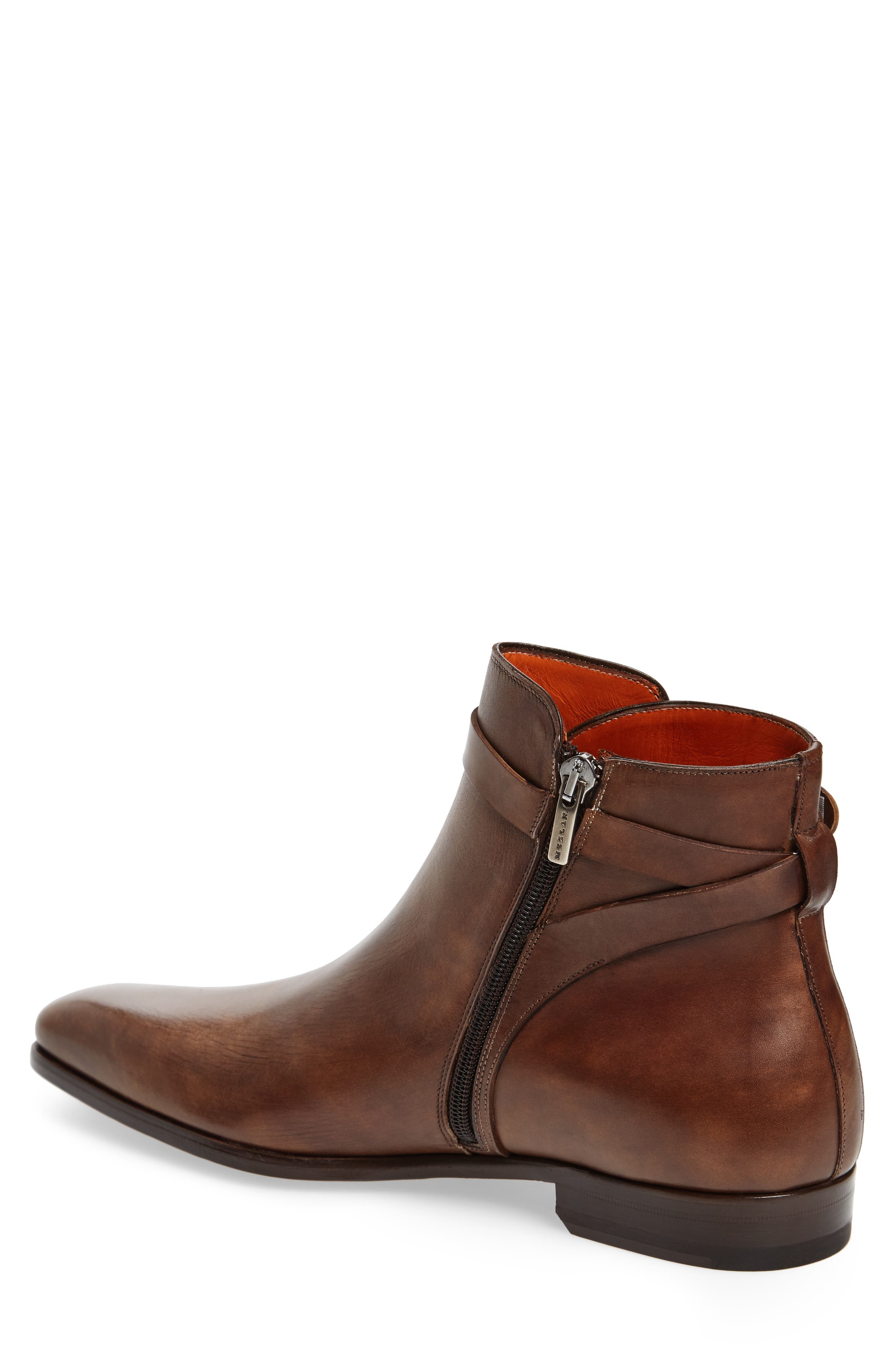 Viso Zip Boot,                             Alternate thumbnail 2, color,                             TAUPE LEATHER