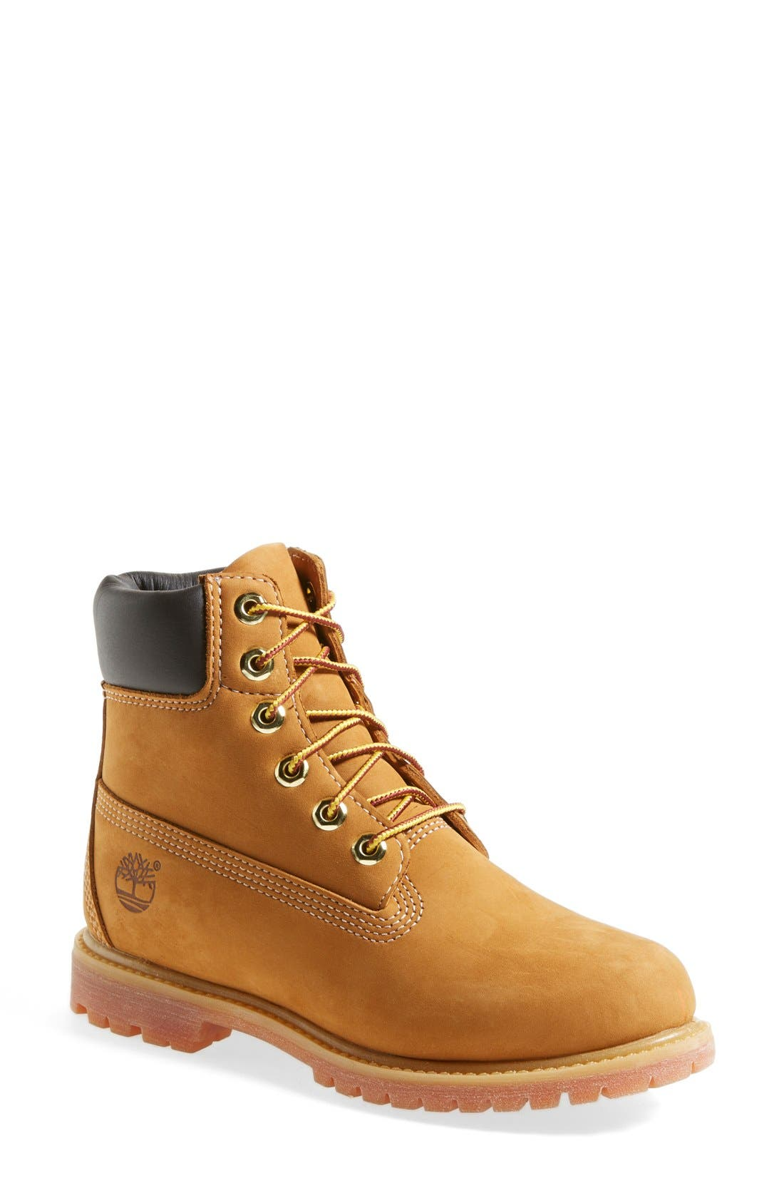 Timberland 6 Inch Premium Waterproof Boot, Metallic