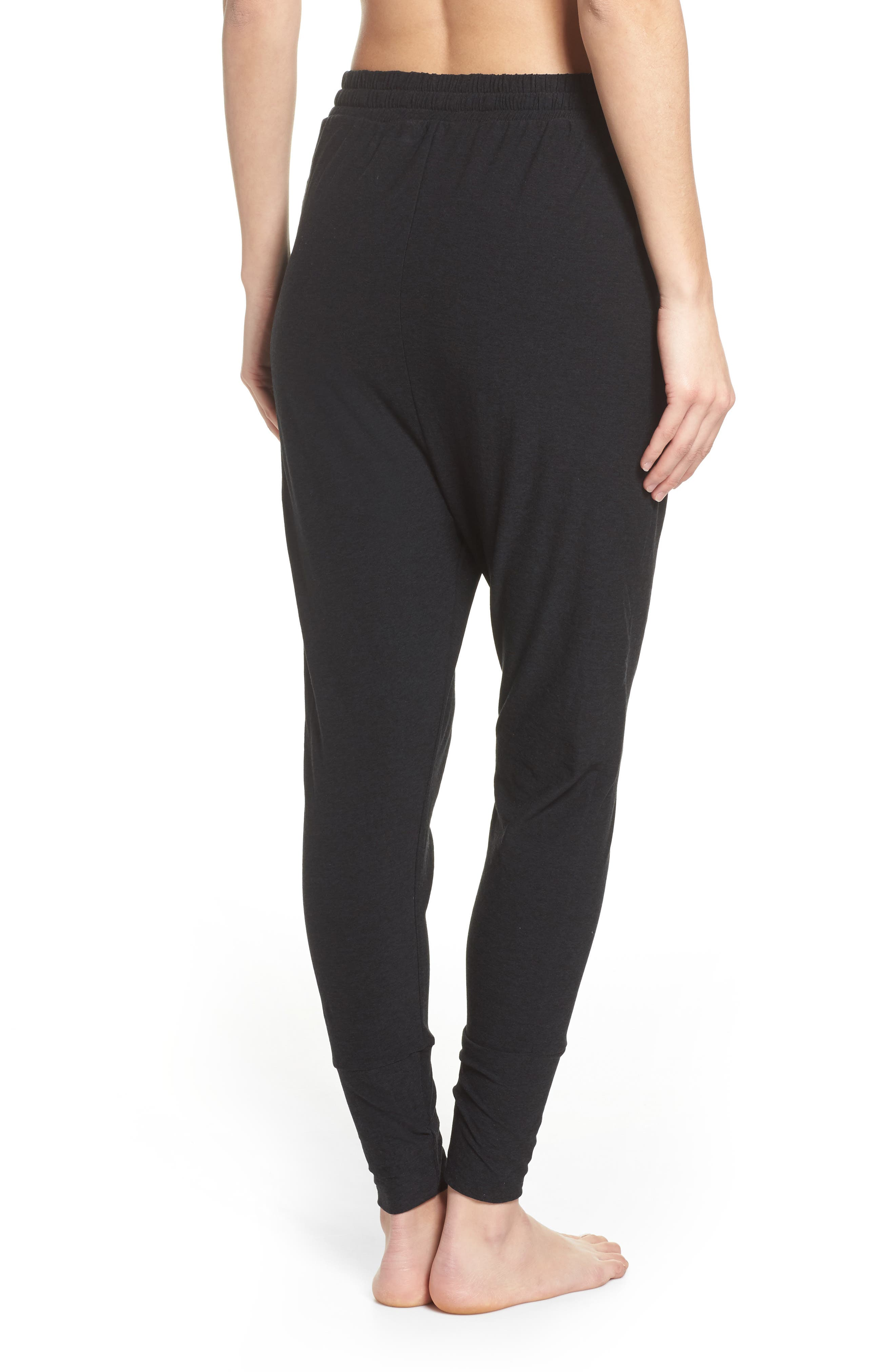 Weekend Traveler Midi Sweatpants,                             Alternate thumbnail 4, color,