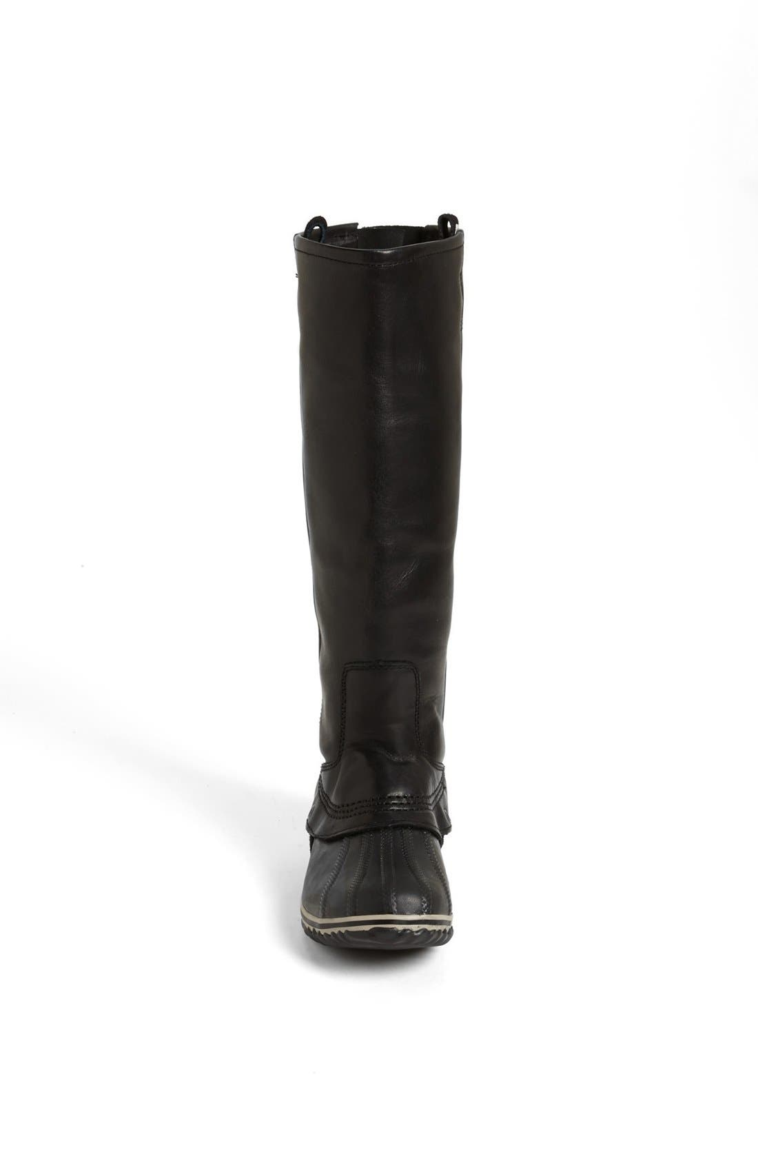 'Slimpack' Riding Boot,                             Alternate thumbnail 3, color,                             010