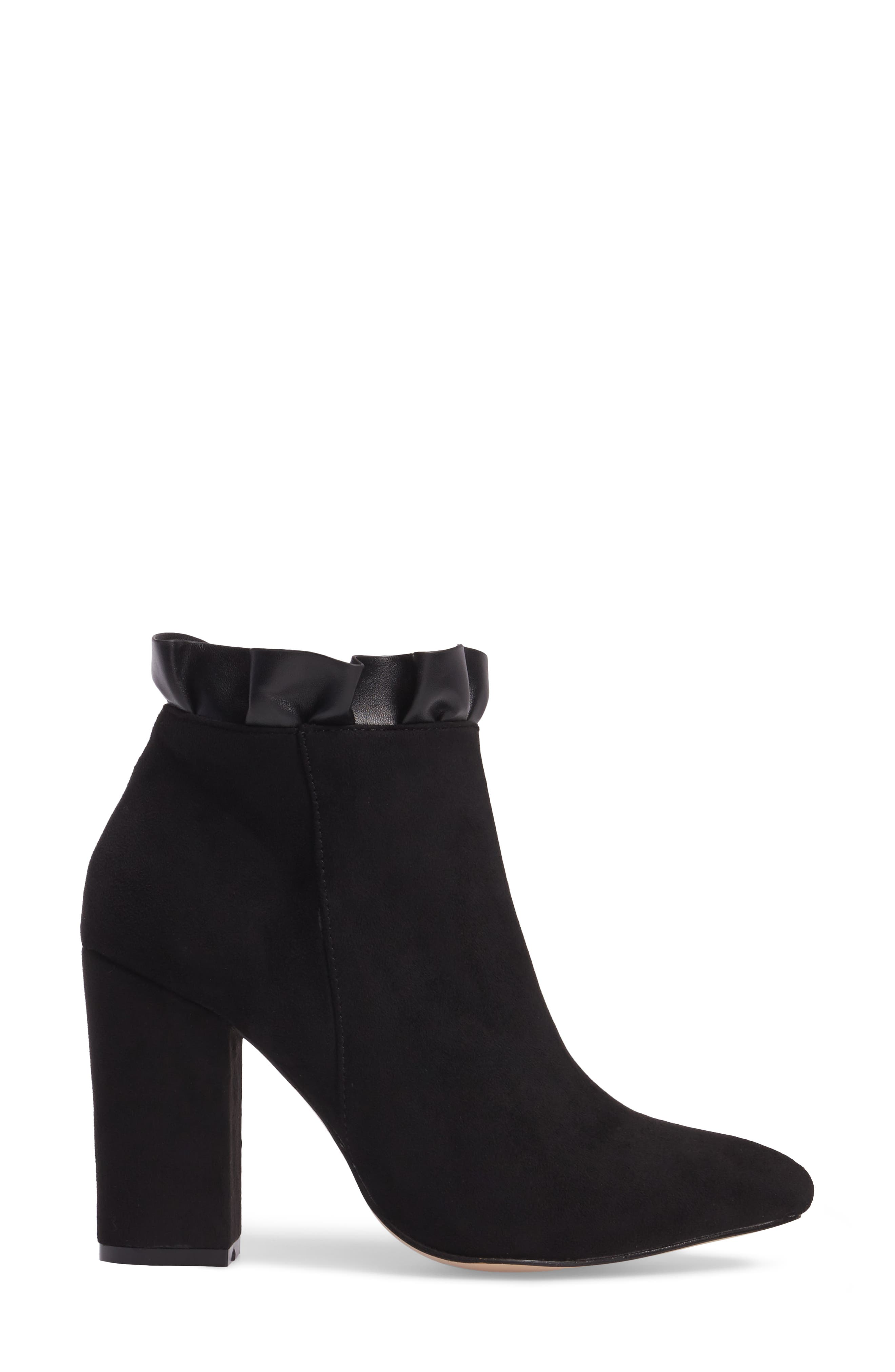 Katana Pointy Toe Bootie,                             Alternate thumbnail 7, color,