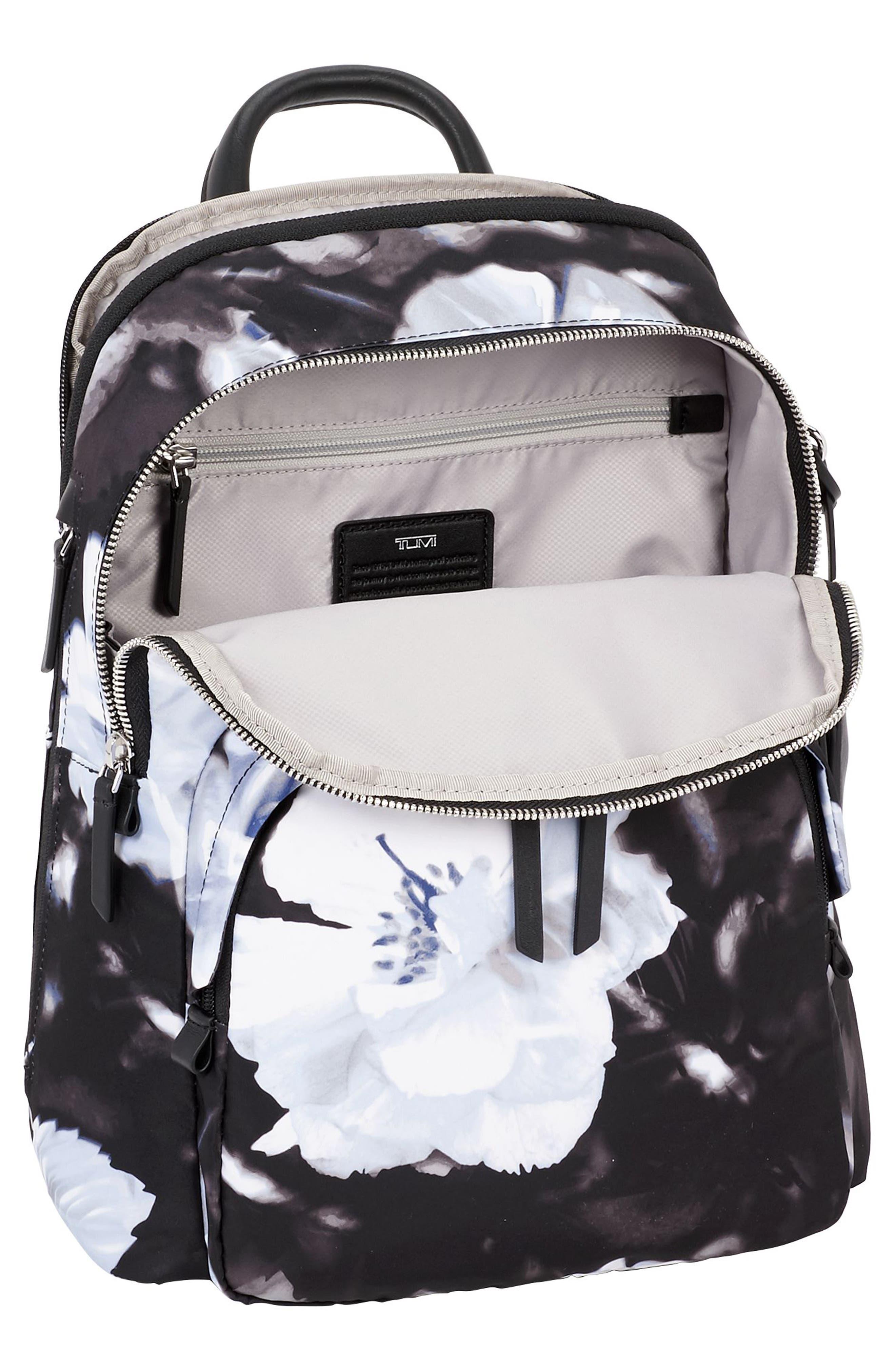Voyageur - Dori Nylon Backpack,                             Alternate thumbnail 4, color,                             002