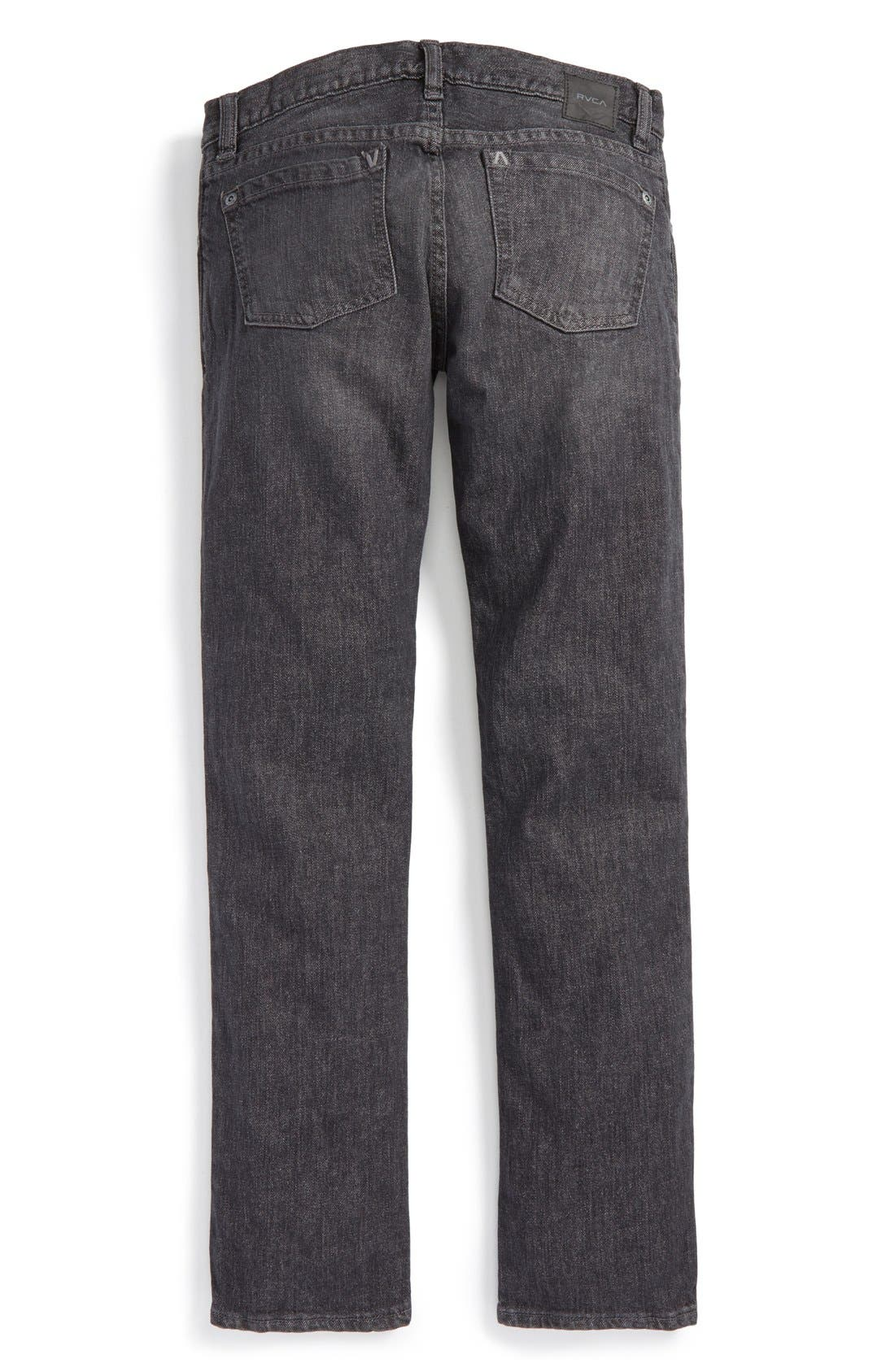 'Daggers' Slim Fit Jeans,                             Alternate thumbnail 3, color,