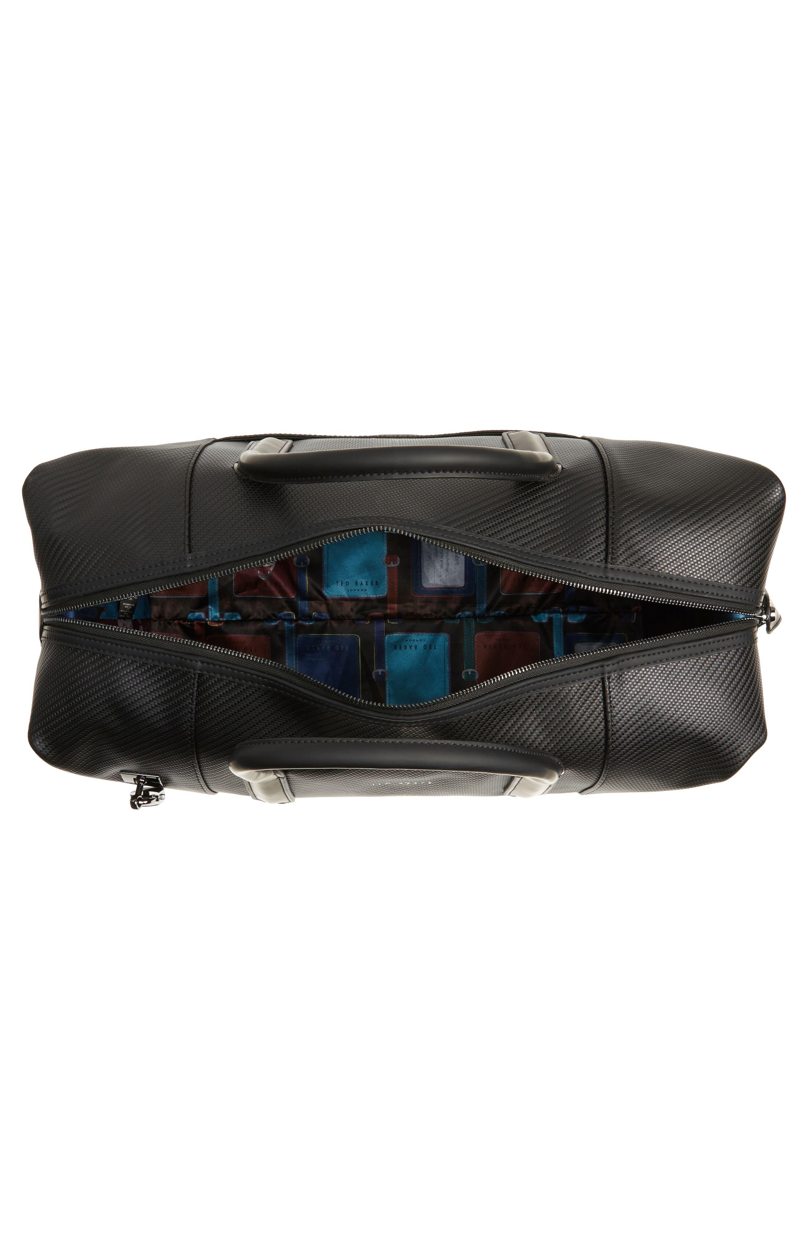 Novana Leather Duffel Bag,                             Alternate thumbnail 4, color,