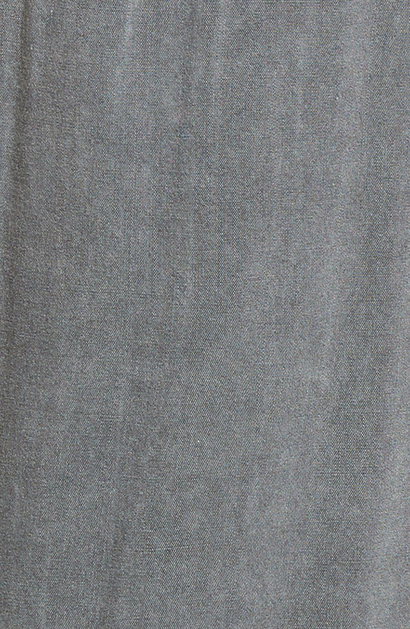 Stripe Crop Pants,                             Alternate thumbnail 6, color,                             020