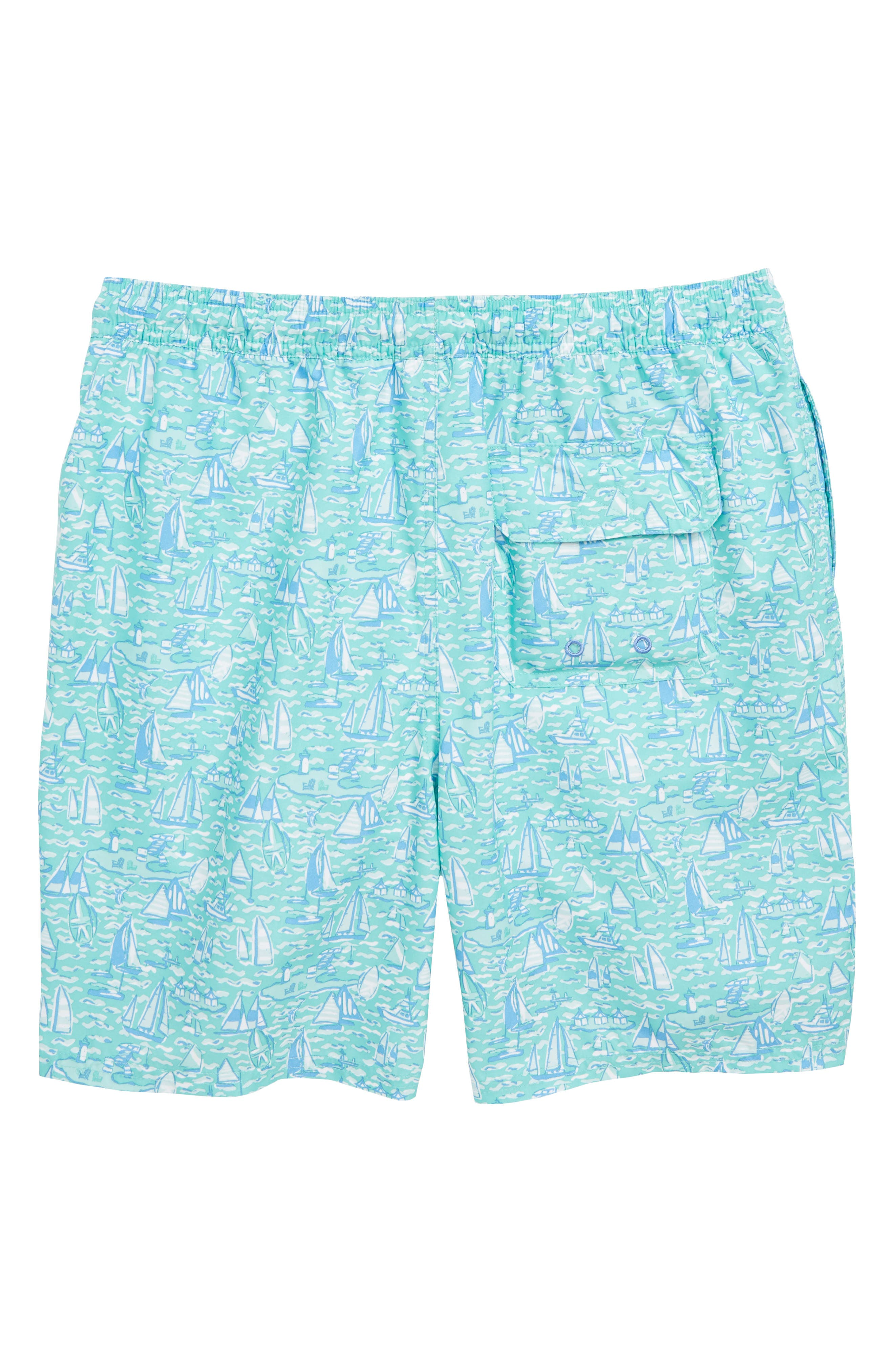 Chappy Sailing the Vineyard Swim Trunks,                             Alternate thumbnail 2, color,                             400