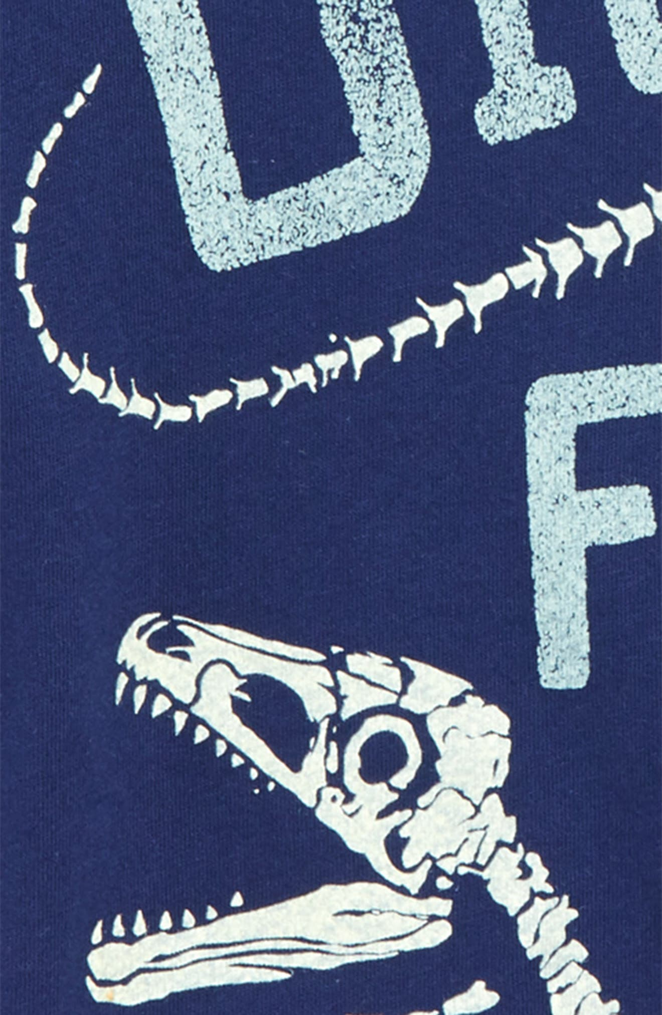 Digging for Dinos Glow in the Dark T-Shirt,                             Alternate thumbnail 4, color,                             410
