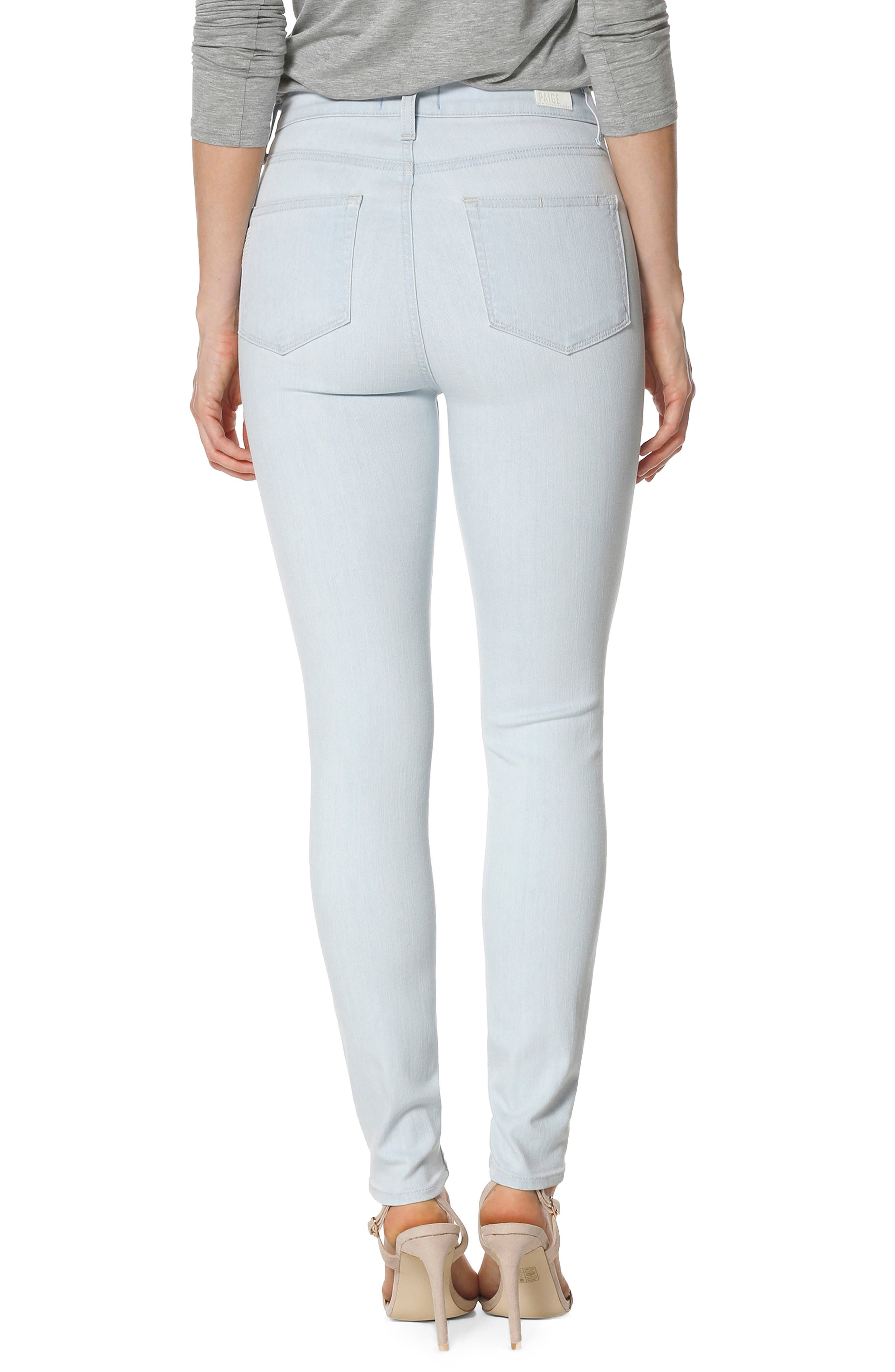 Margot High Waist Ultra Skinny Jeans,                             Alternate thumbnail 2, color,                             400
