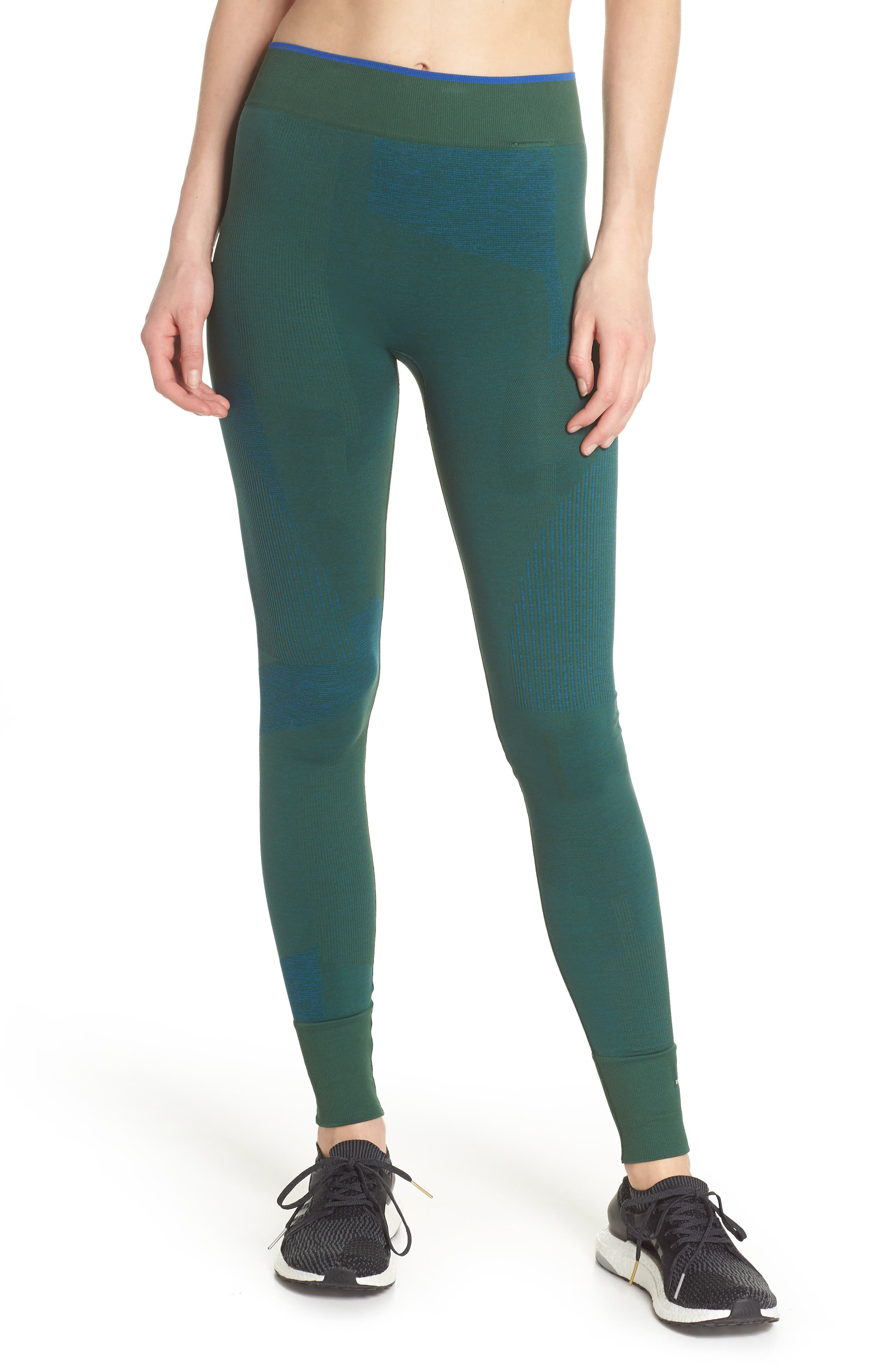 Training Seamless Block Tights,                         Main,                         color,