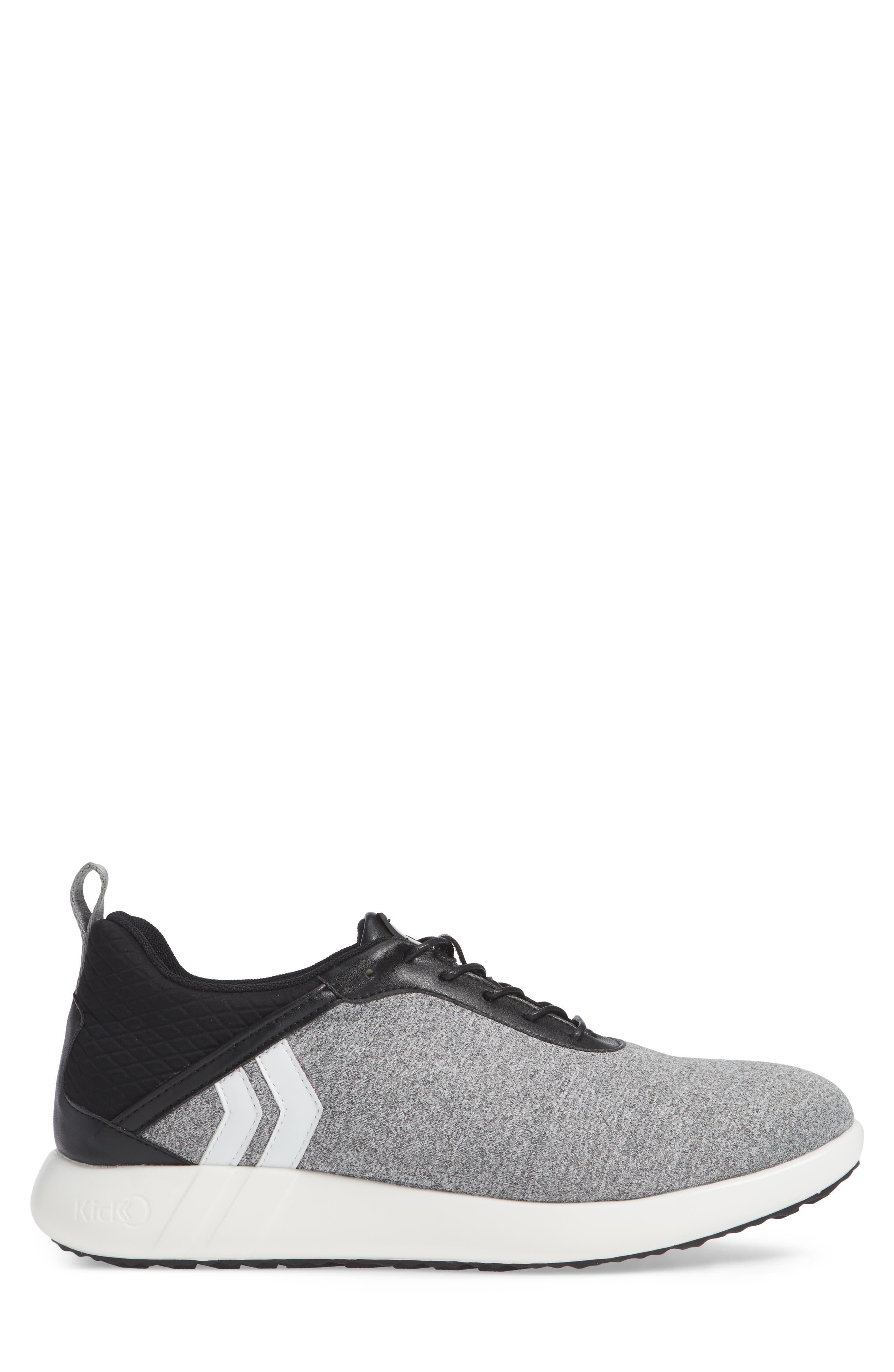 Avalon Sneaker,                             Alternate thumbnail 3, color,                             GREY FABRIC