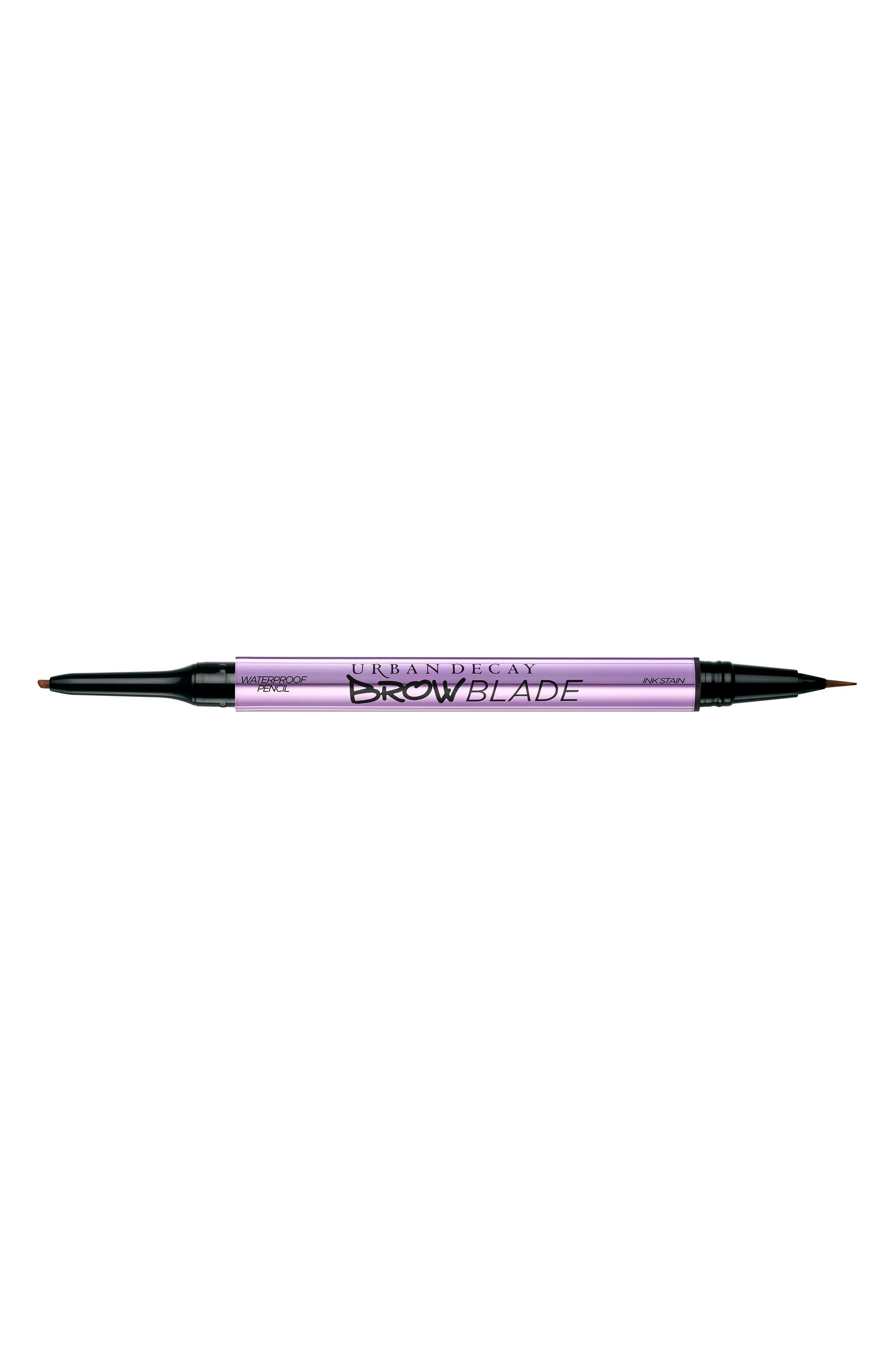 Brow Blade Ink Stain & Waterproof Pencil, Main, color, GINGERSNAP