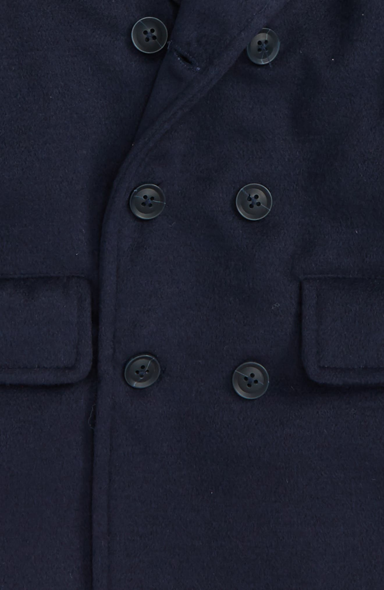 Double Breasted Peacoat,                             Alternate thumbnail 2, color,                             411