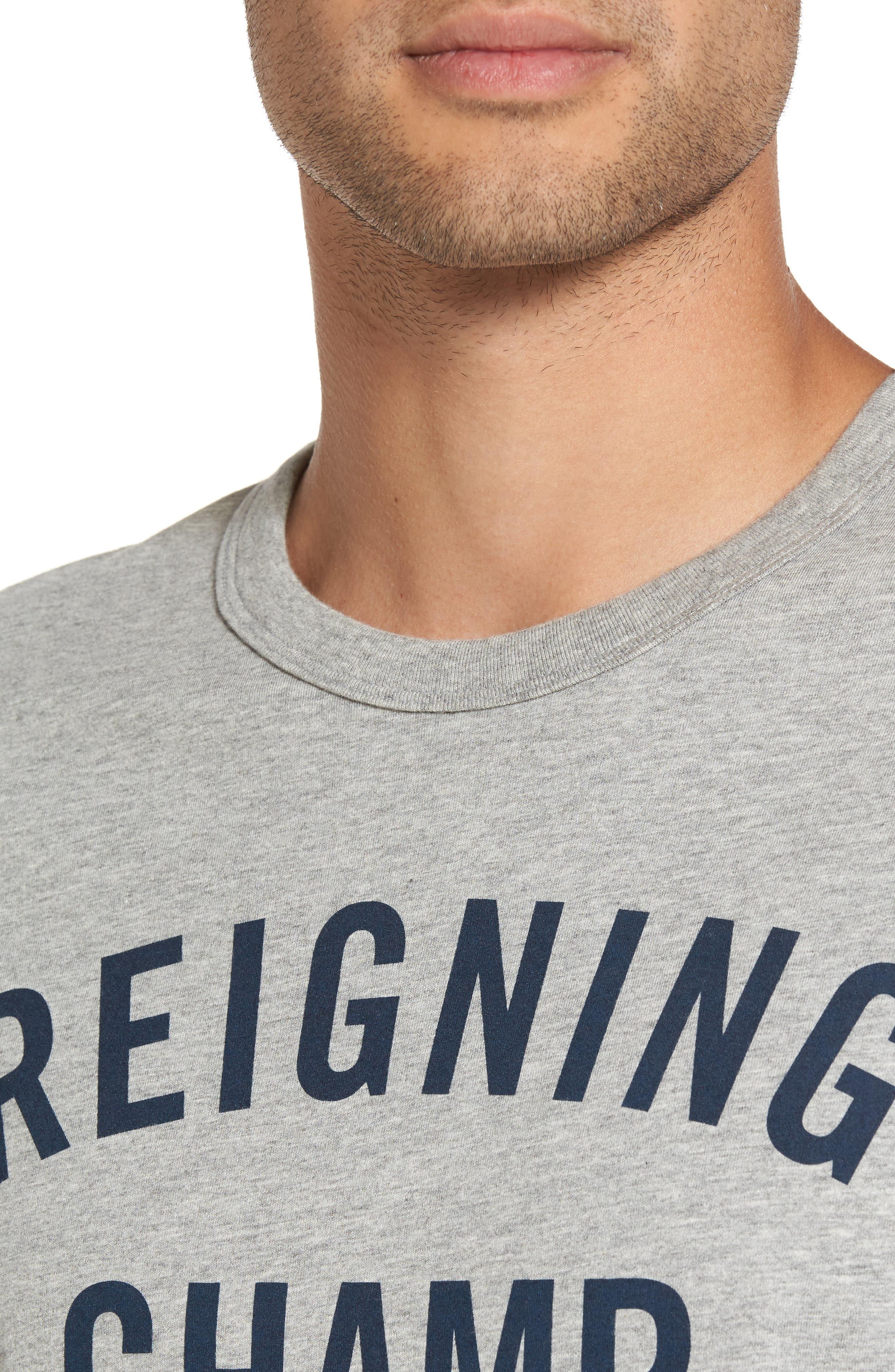 'Gym Logo' Graphic T-Shirt,                             Alternate thumbnail 4, color,                             037