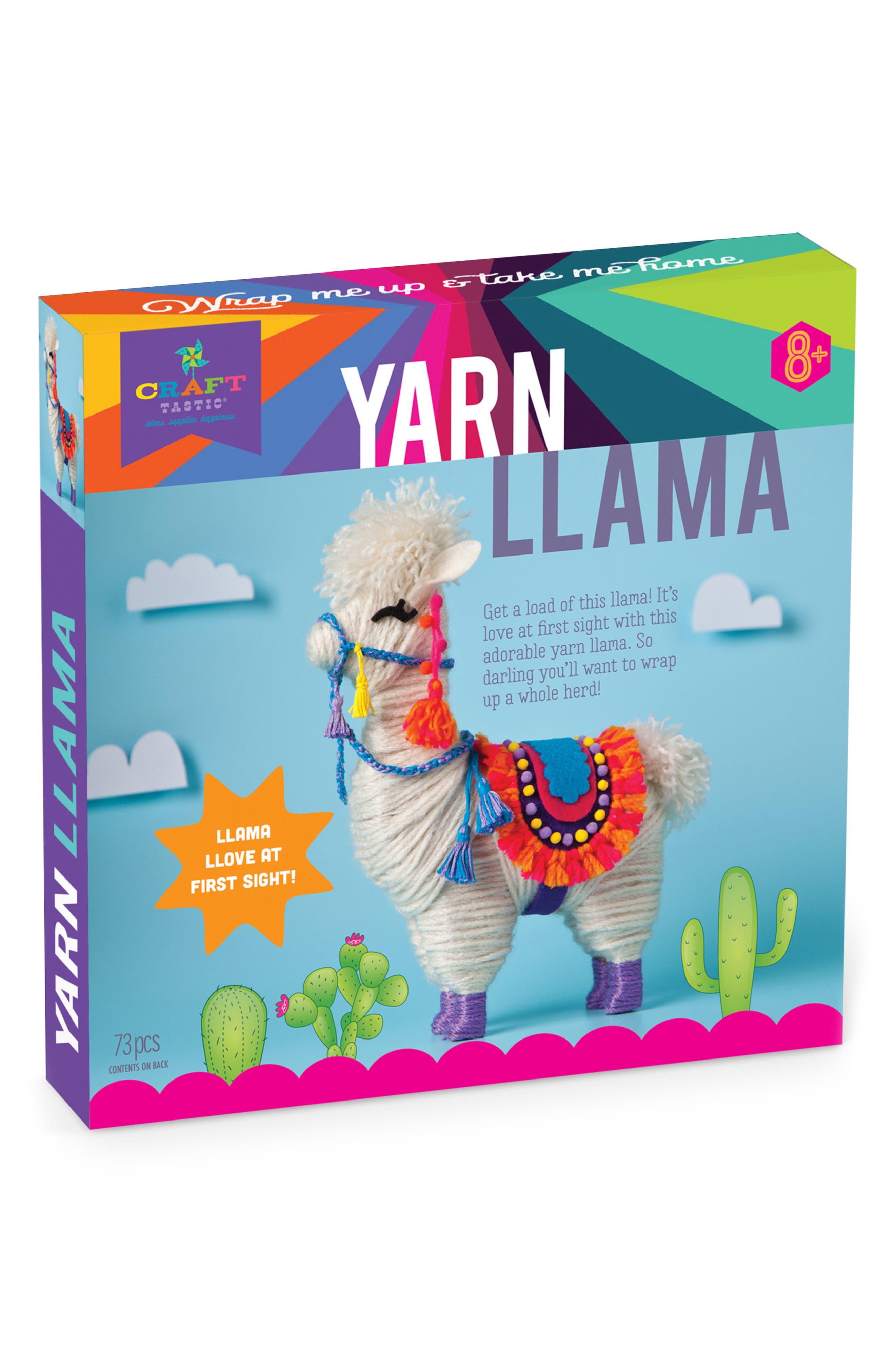 CRAFT-TASTIC,                             Yarn Llama Craft Kit,                             Main thumbnail 1, color,                             960