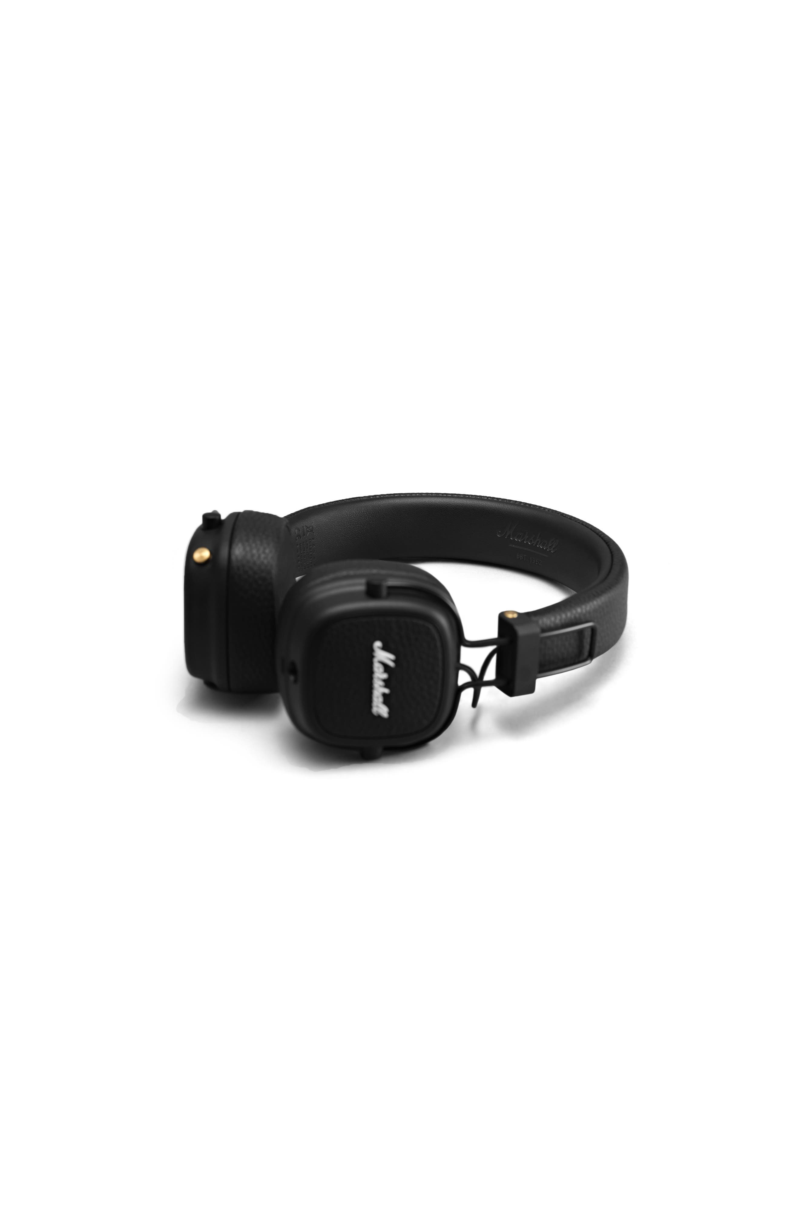 Major III Bluetooth<sup>®</sup> Headphones,                             Alternate thumbnail 3, color,                             BLACK