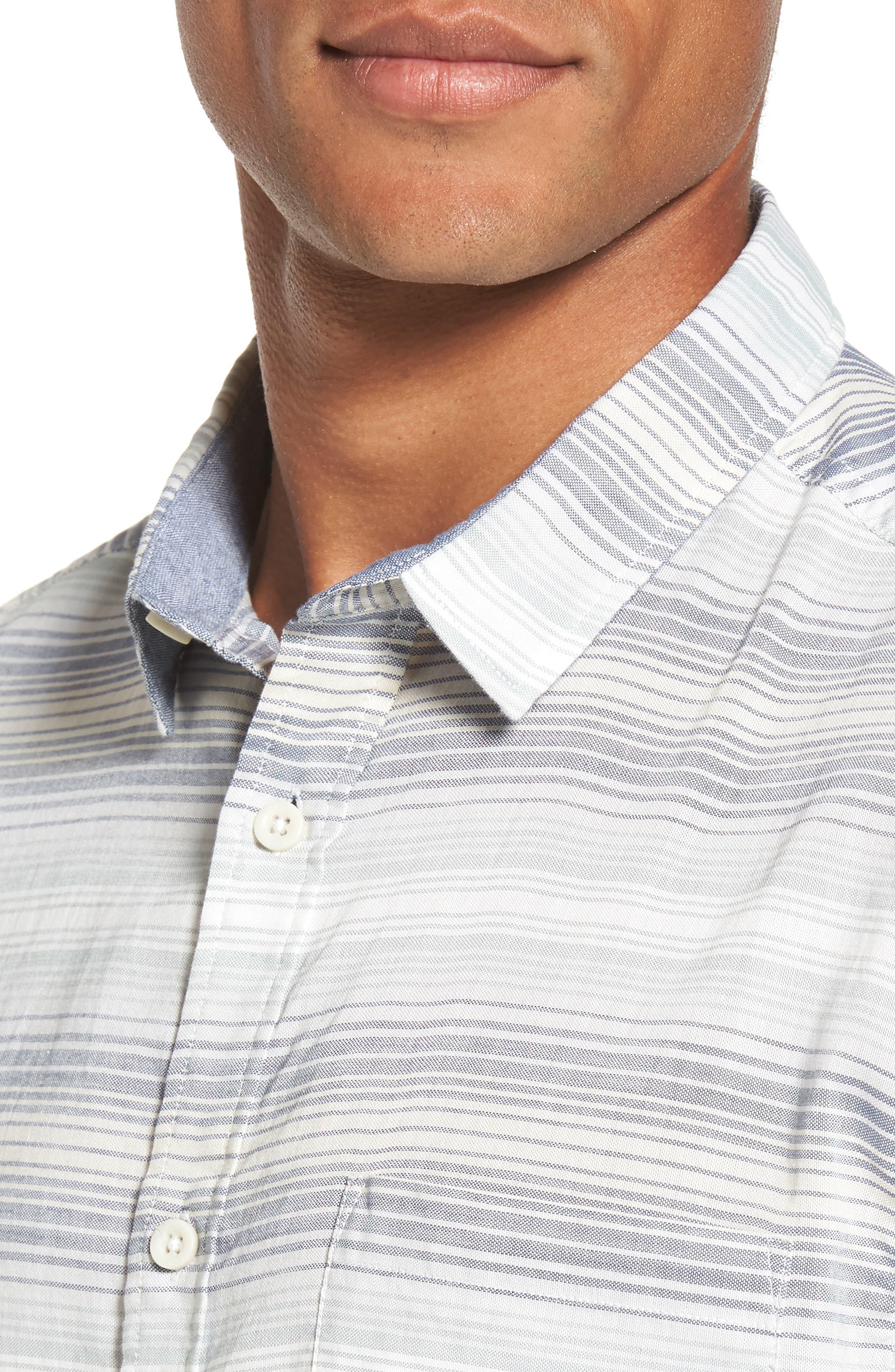 Aventail Stripe Shirt,                             Alternate thumbnail 7, color,