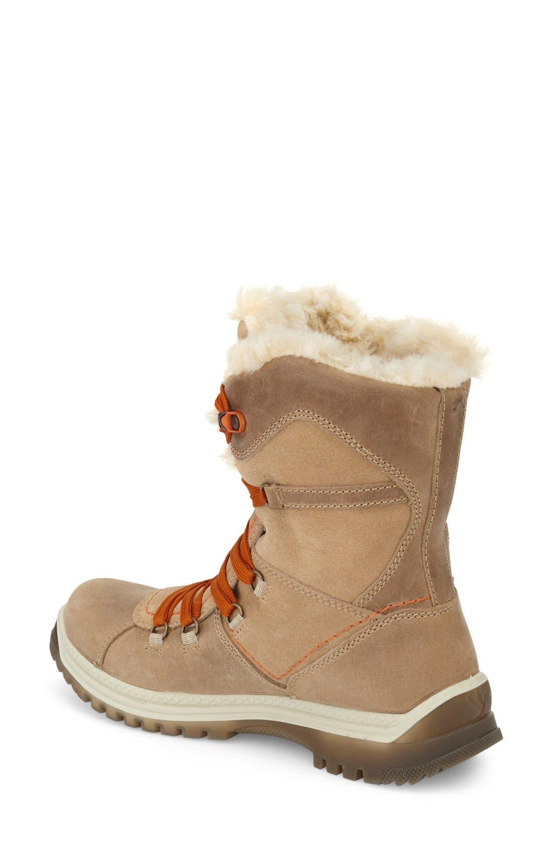 'Majesta' Faux Fur Boot,                             Alternate thumbnail 4, color,