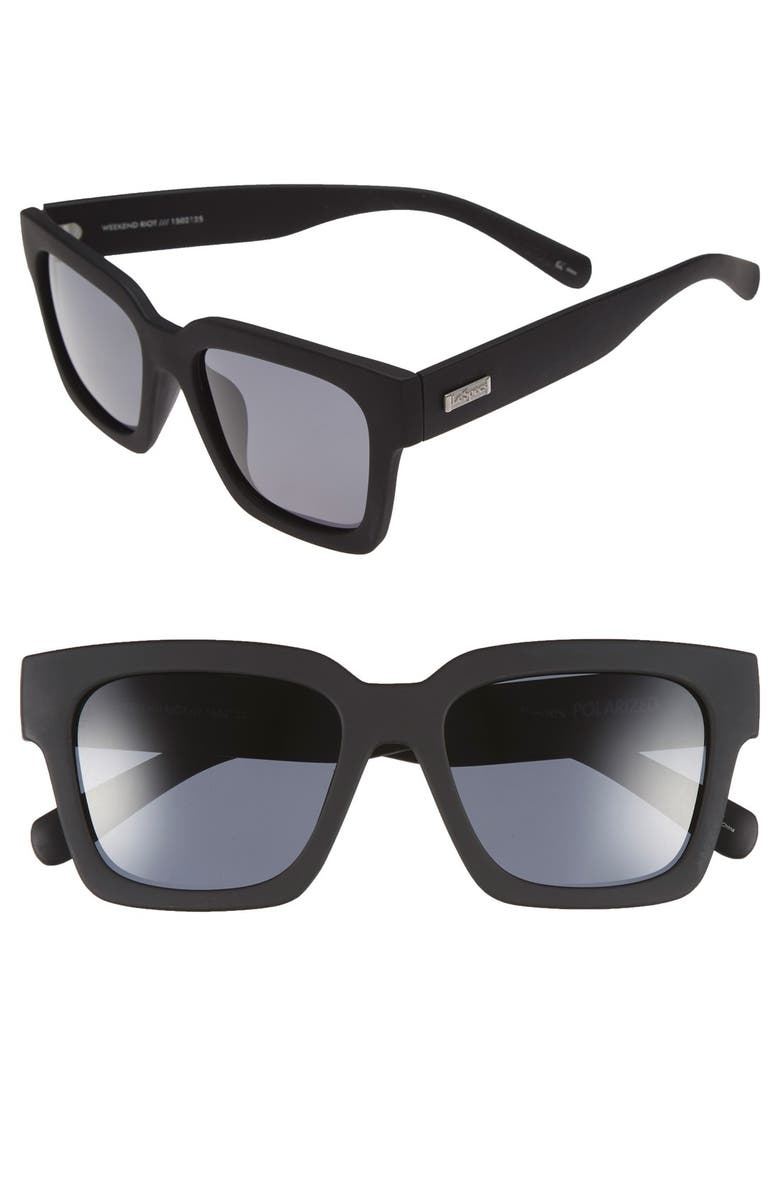 a9c9943d84b Le Specs  Weekend Riot  55mm Sunglasses