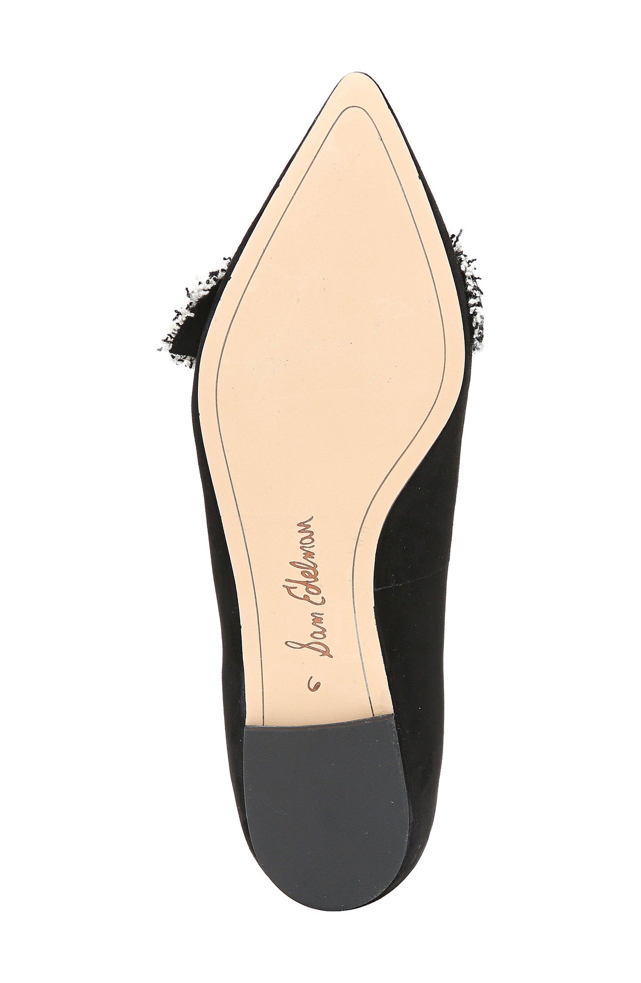 Rochester Bow Pointy Toe Flat,                             Alternate thumbnail 17, color,