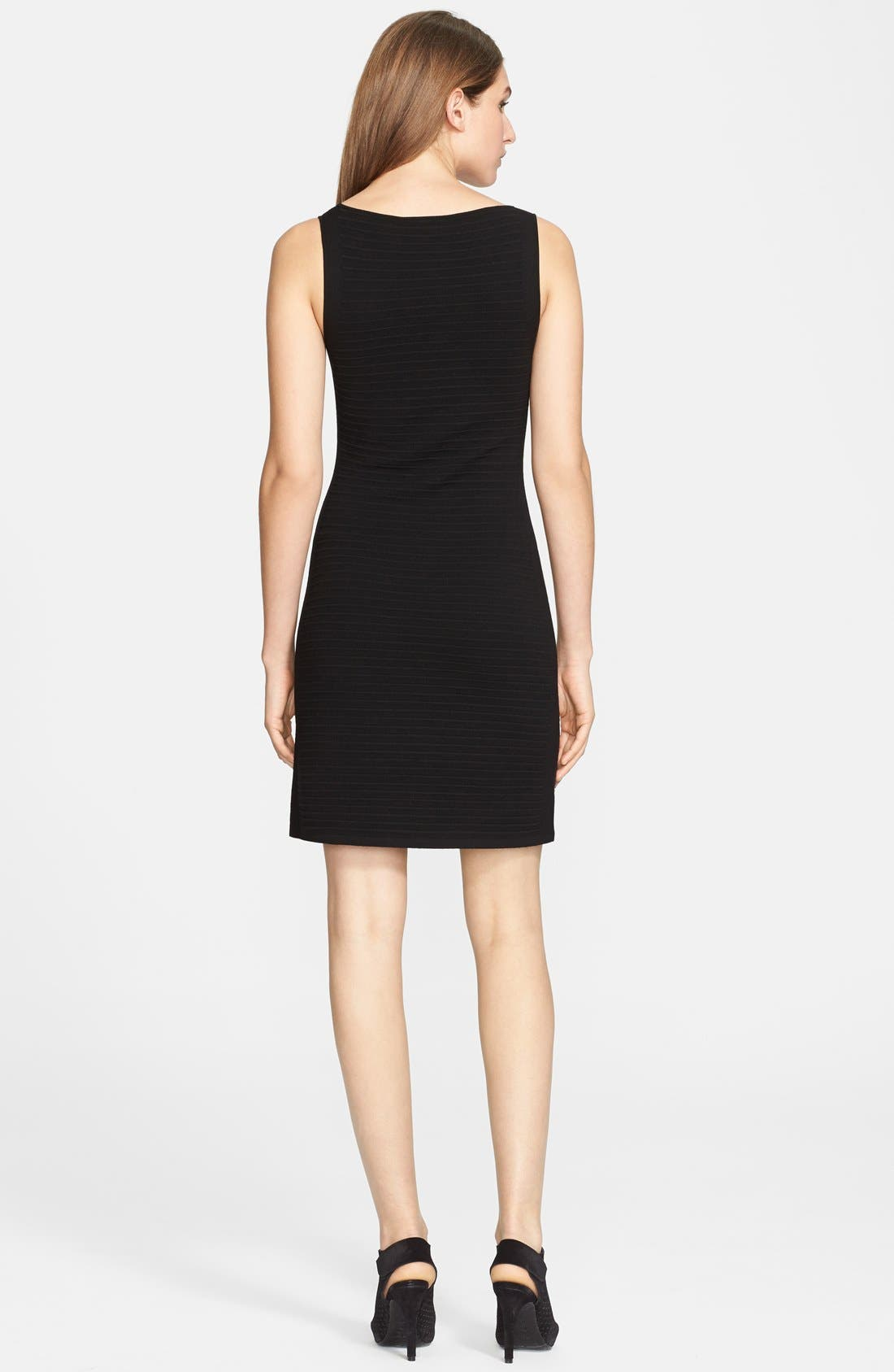 THEORY,                             'Abrissa' Sheath Dress,                             Alternate thumbnail 3, color,                             001
