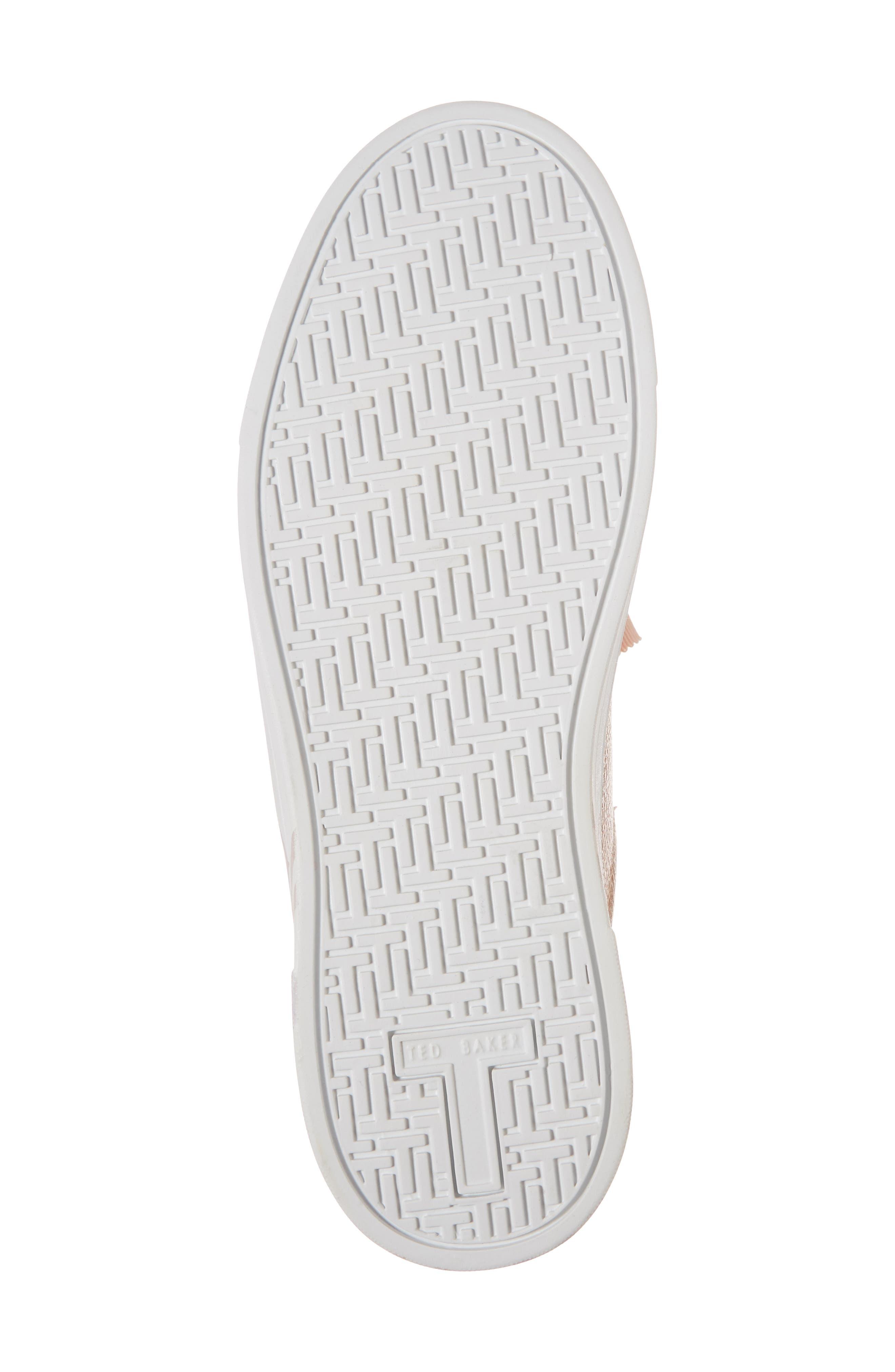 Kelleip Sneaker,                             Alternate thumbnail 6, color,                             ROSE GOLD/ PALACE GARDENS
