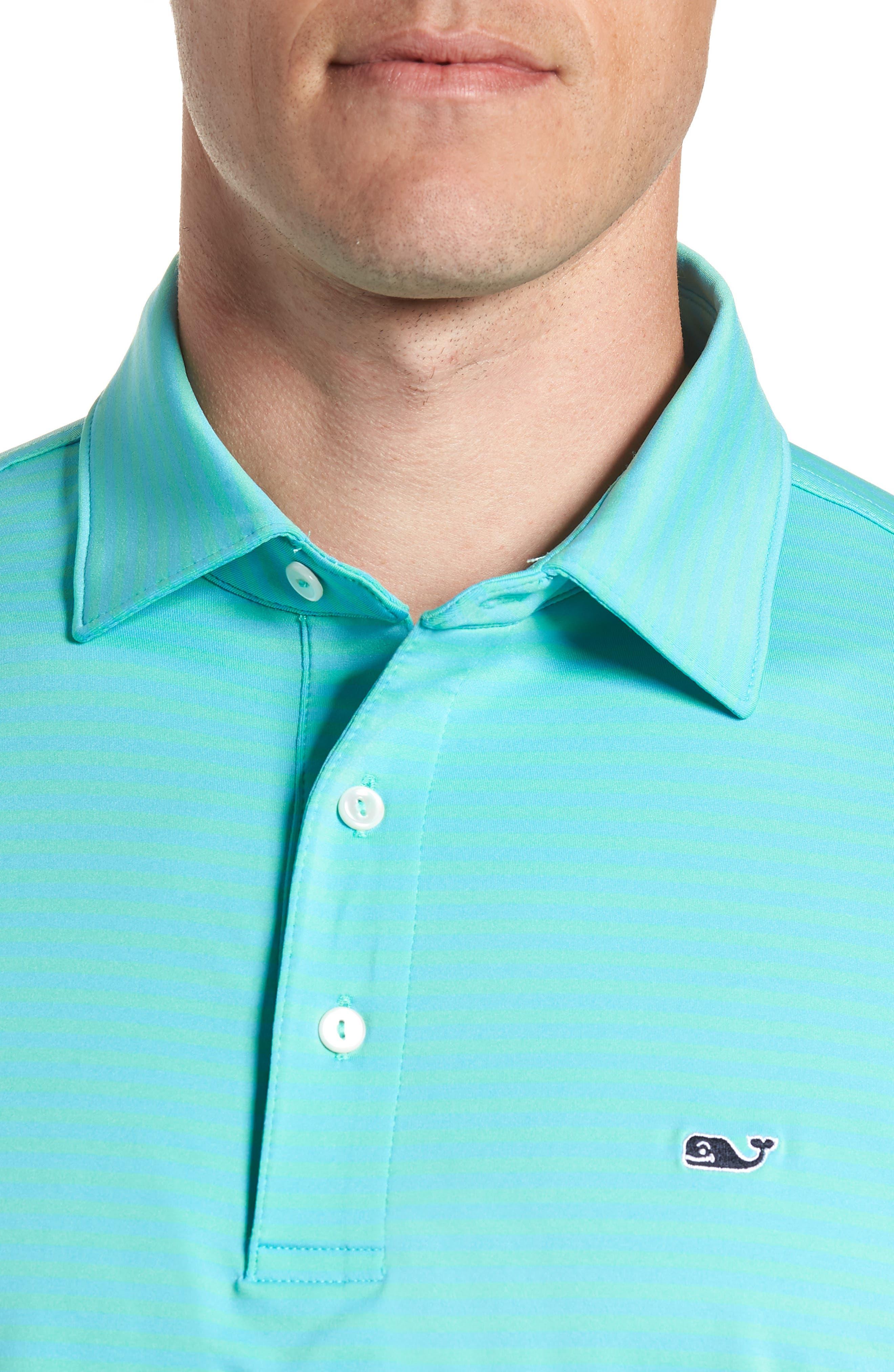 Kennedy Stripe Golf Polo,                             Alternate thumbnail 60, color,