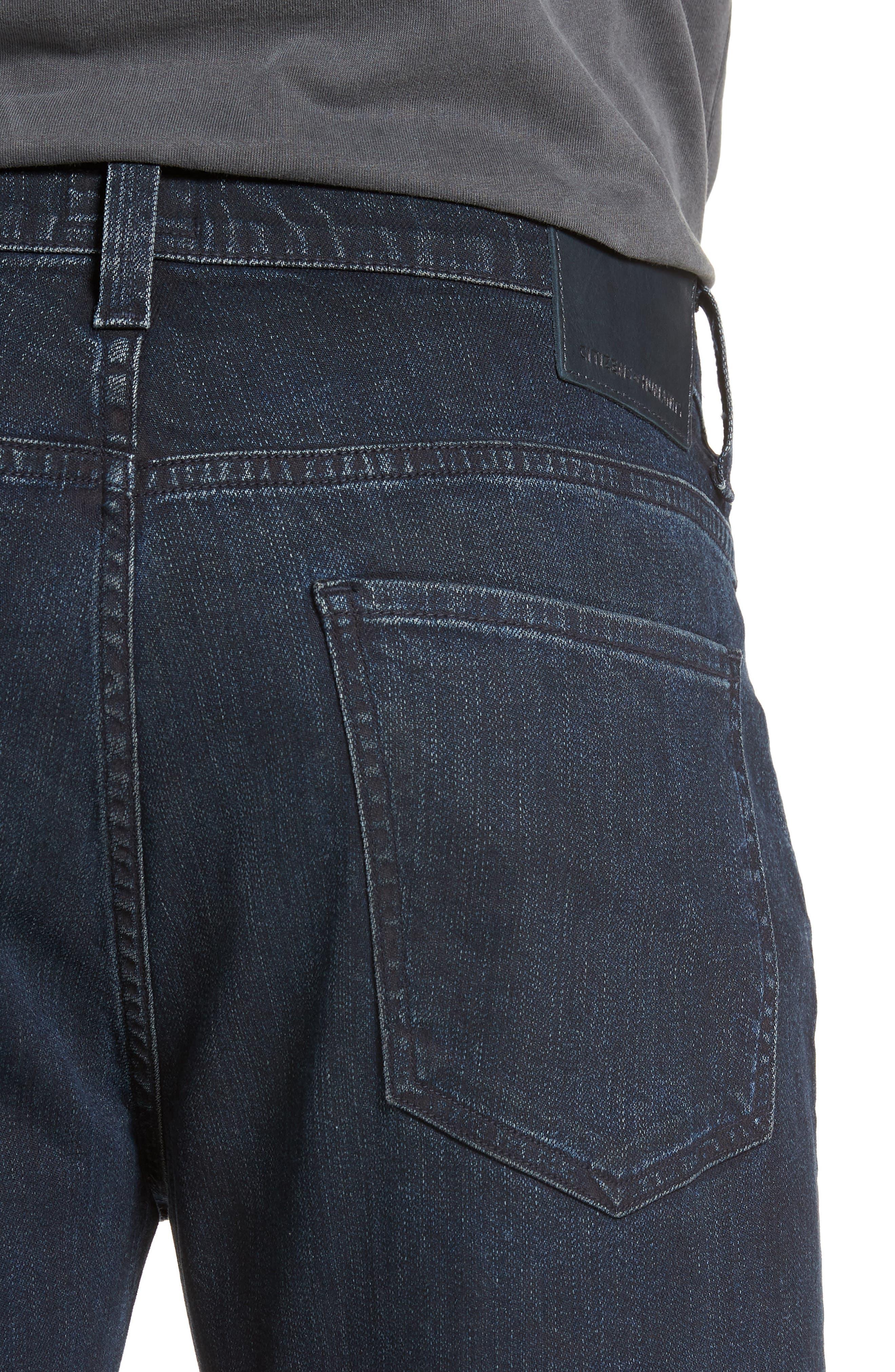 Sid Straight Leg Jeans,                             Alternate thumbnail 4, color,                             NATE