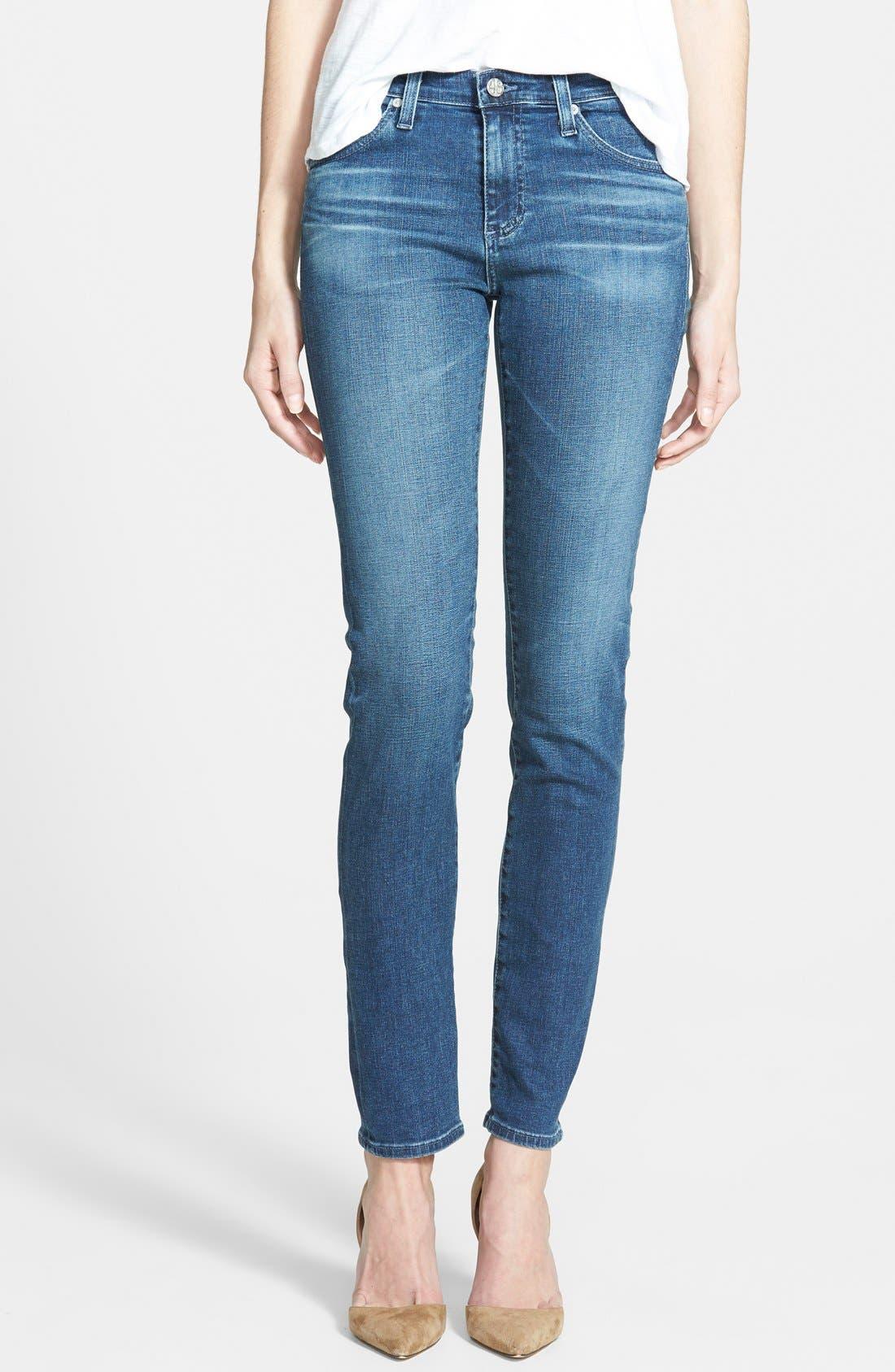 'Prima' Skinny Jeans,                             Main thumbnail 8, color,