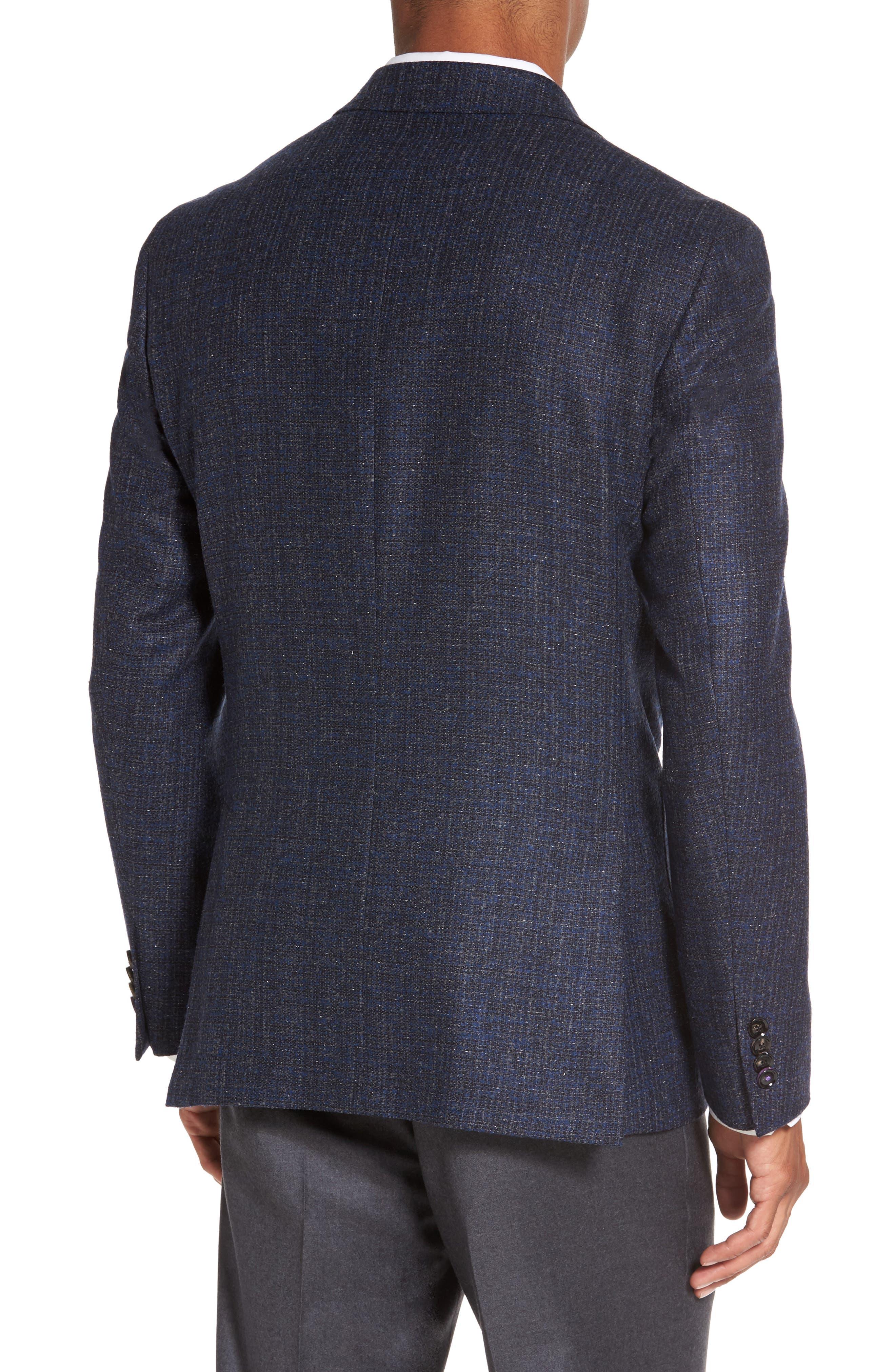 Kyle Trim Fit Wool Blend Blazer,                             Alternate thumbnail 2, color,                             400