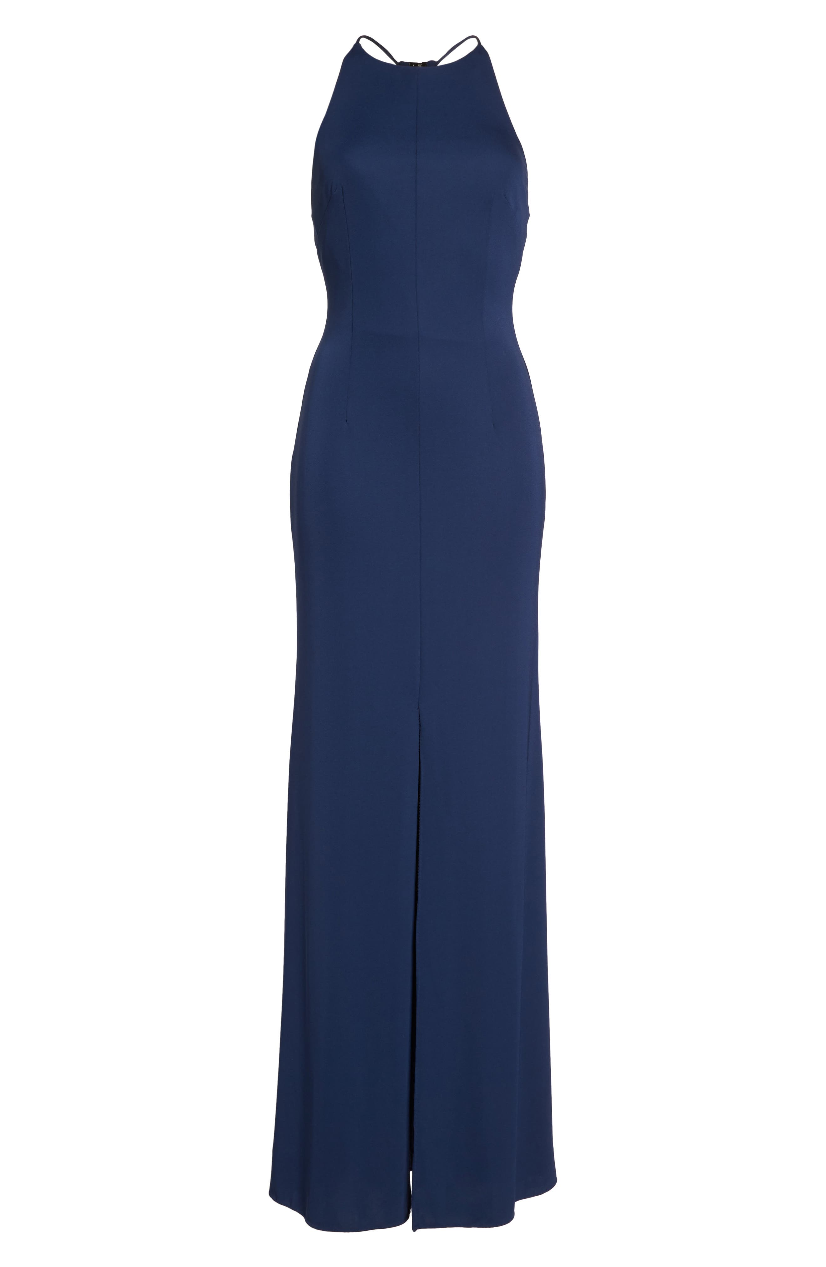 Victoria Sleeveless Gown,                             Alternate thumbnail 6, color,                             411