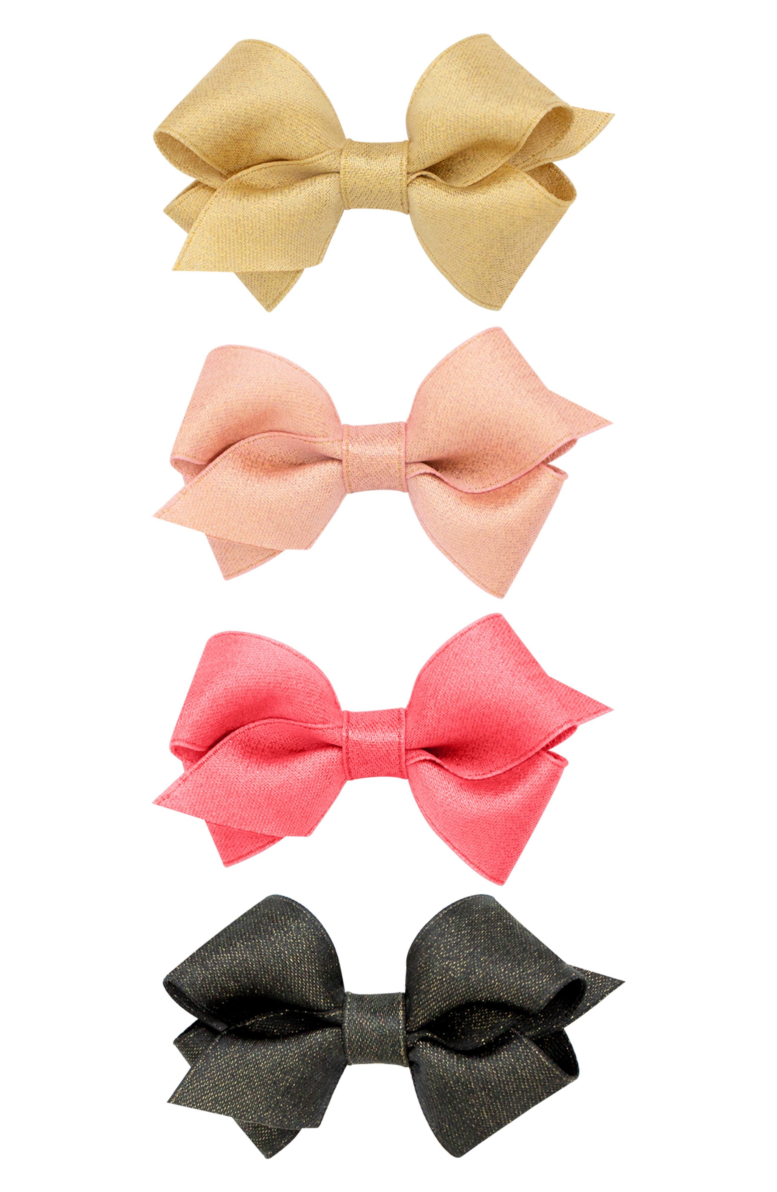4-Pack Sparkle Hair Clips,                             Alternate thumbnail 2, color,                             MULTI