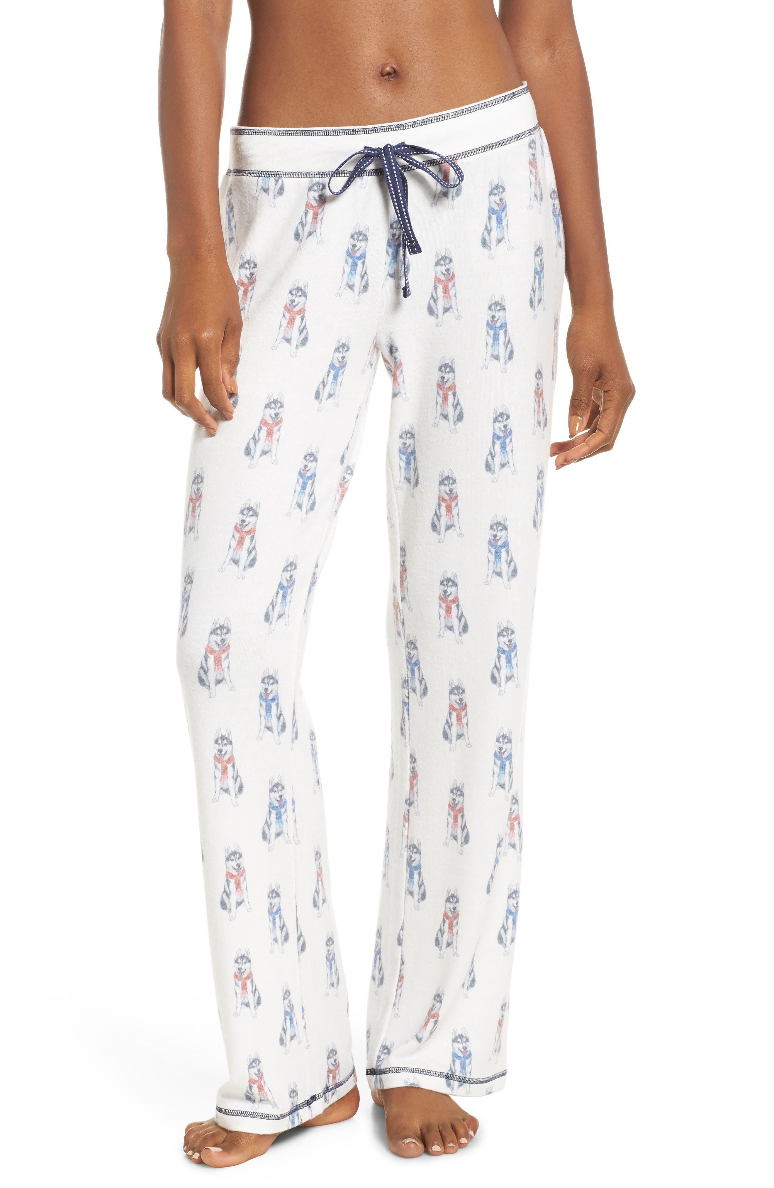Winter Escape Lounge Pants,                         Main,                         color, NATURAL