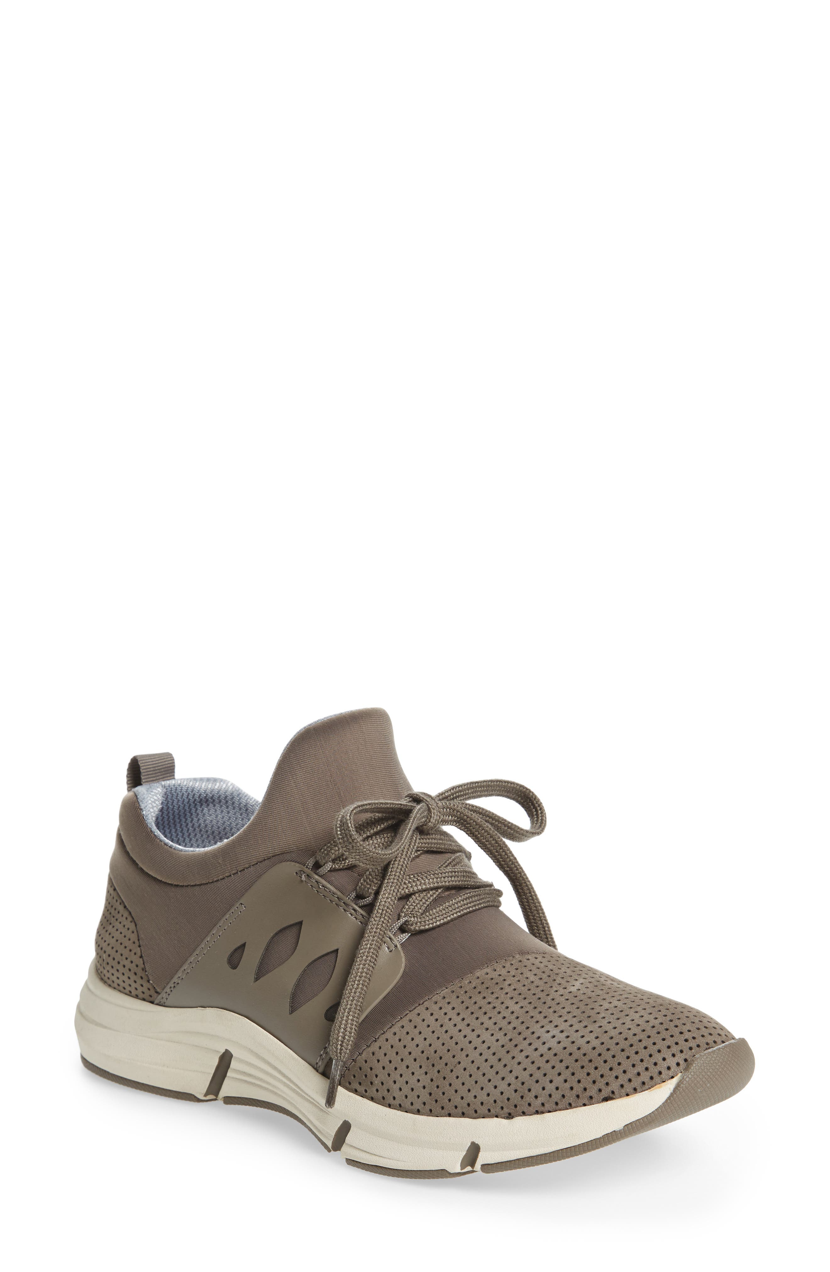 Ordell Sneaker,                             Main thumbnail 1, color,                             PAPER MACHE GREY NUBUCK
