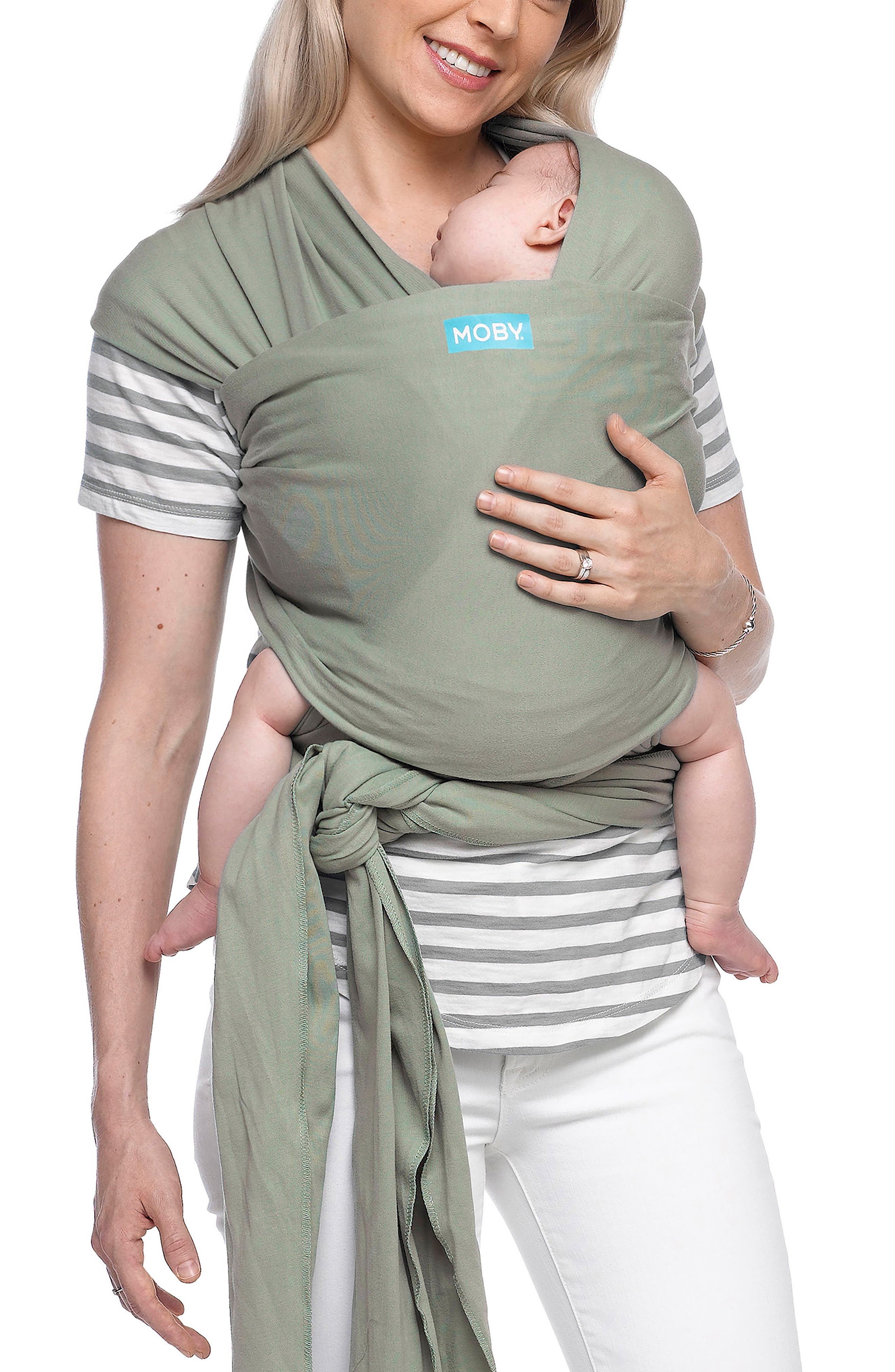 Infant Moby Classic Baby Carrier Size One Size  Green