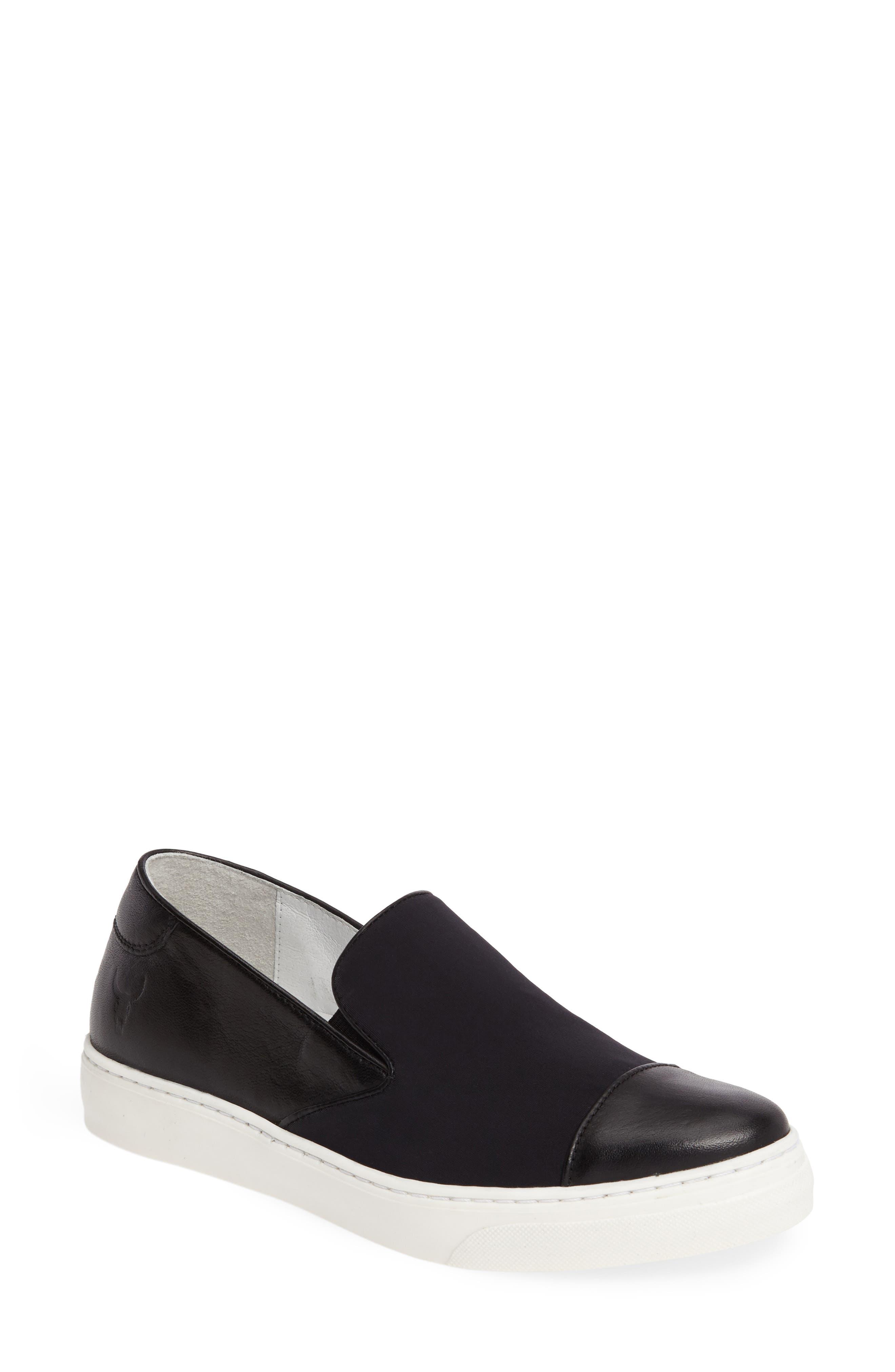 Betsy Slip-On Sneaker,                             Main thumbnail 1, color,                             001