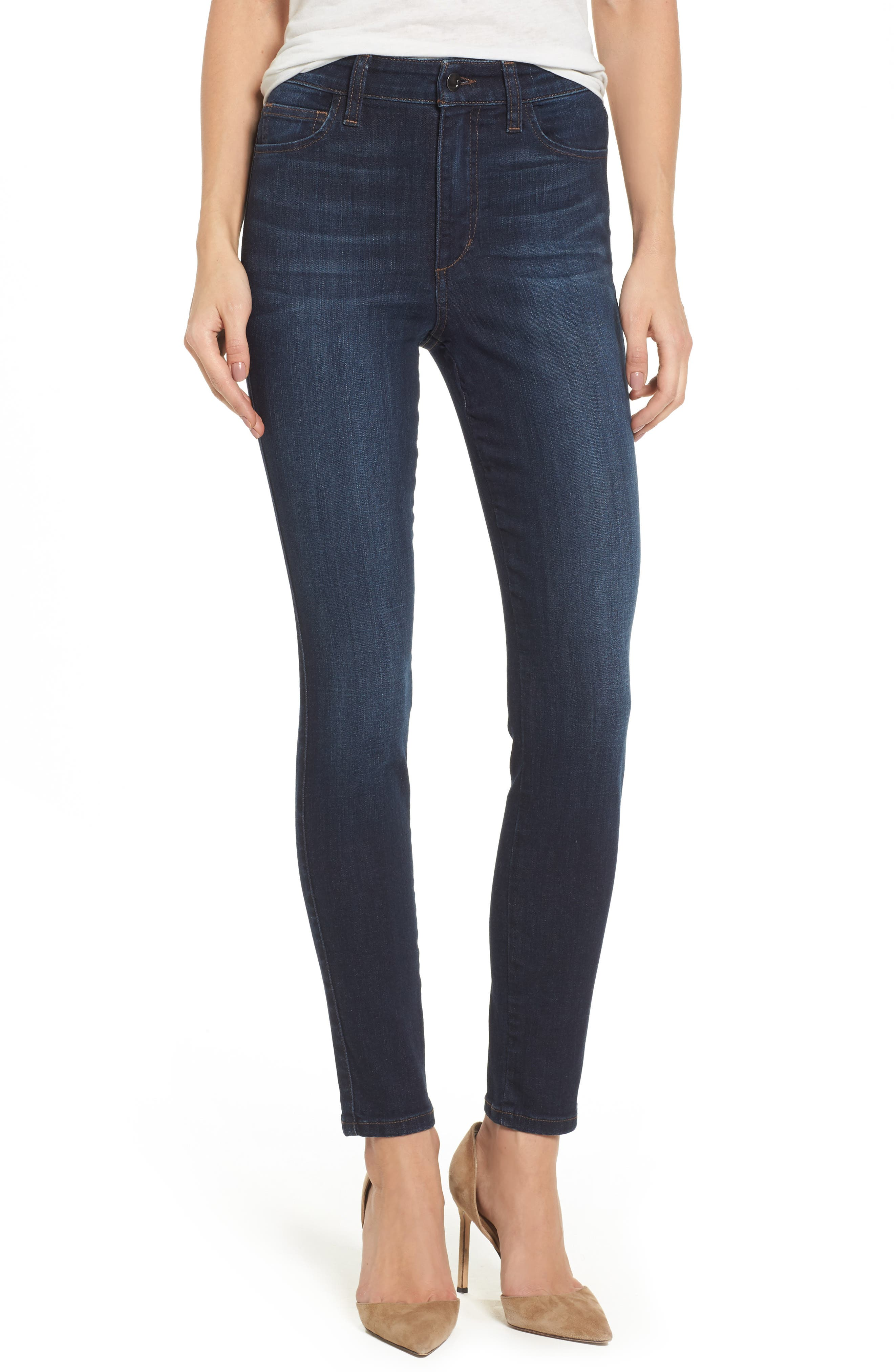 Charlie High Waist Skinny Jeans,                             Main thumbnail 1, color,                             405