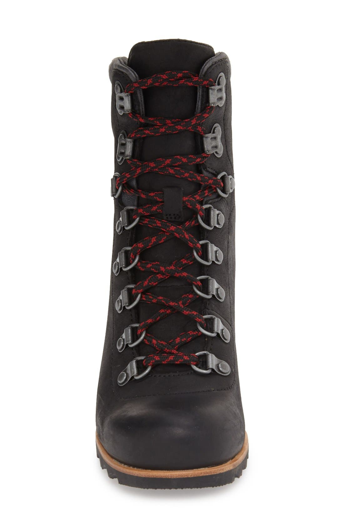 'Conquest' Waterproof Wedge Boot,                             Alternate thumbnail 5, color,                             010