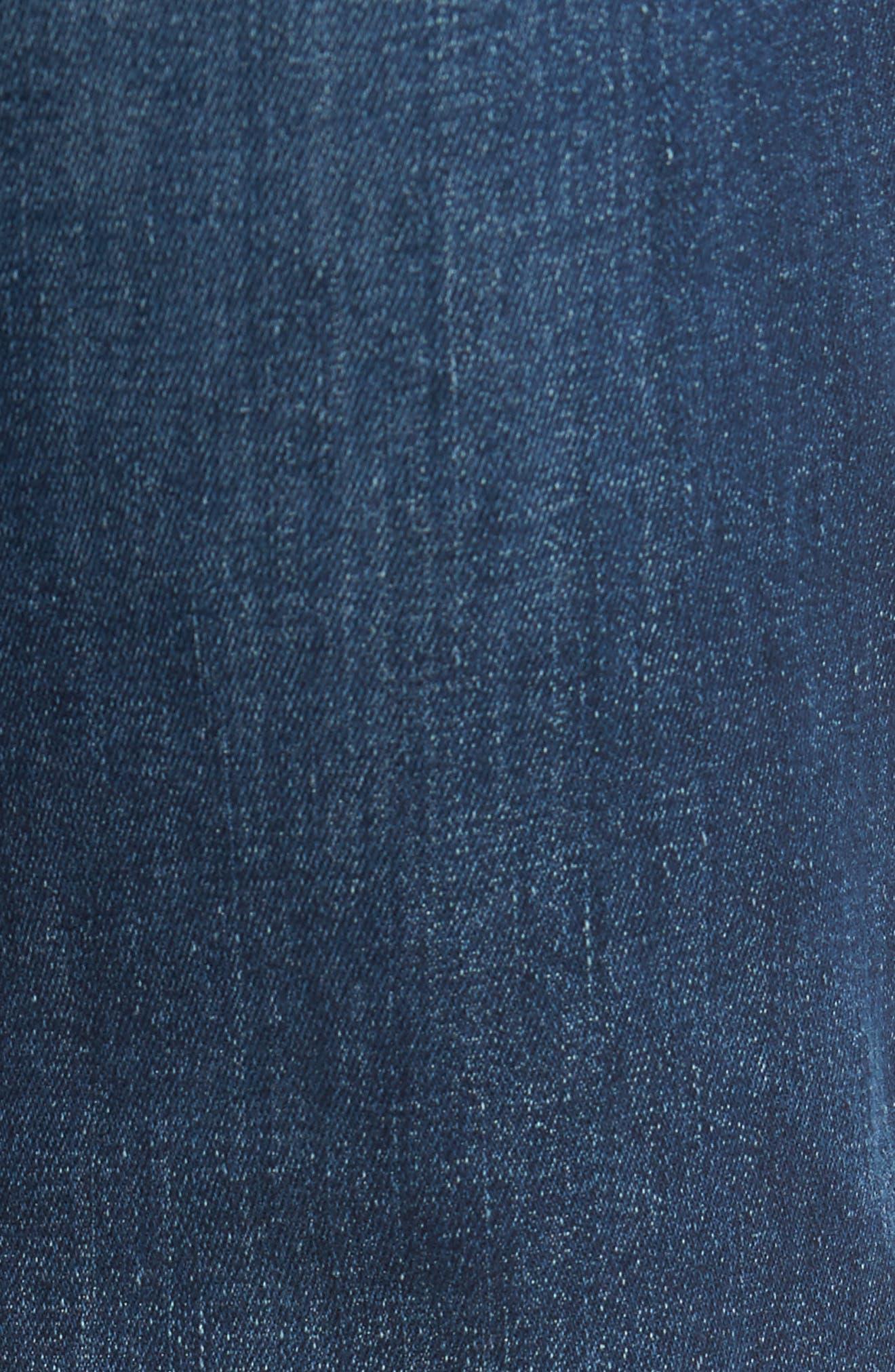 Adrien Slim Fit Jeans,                             Alternate thumbnail 5, color,                             402