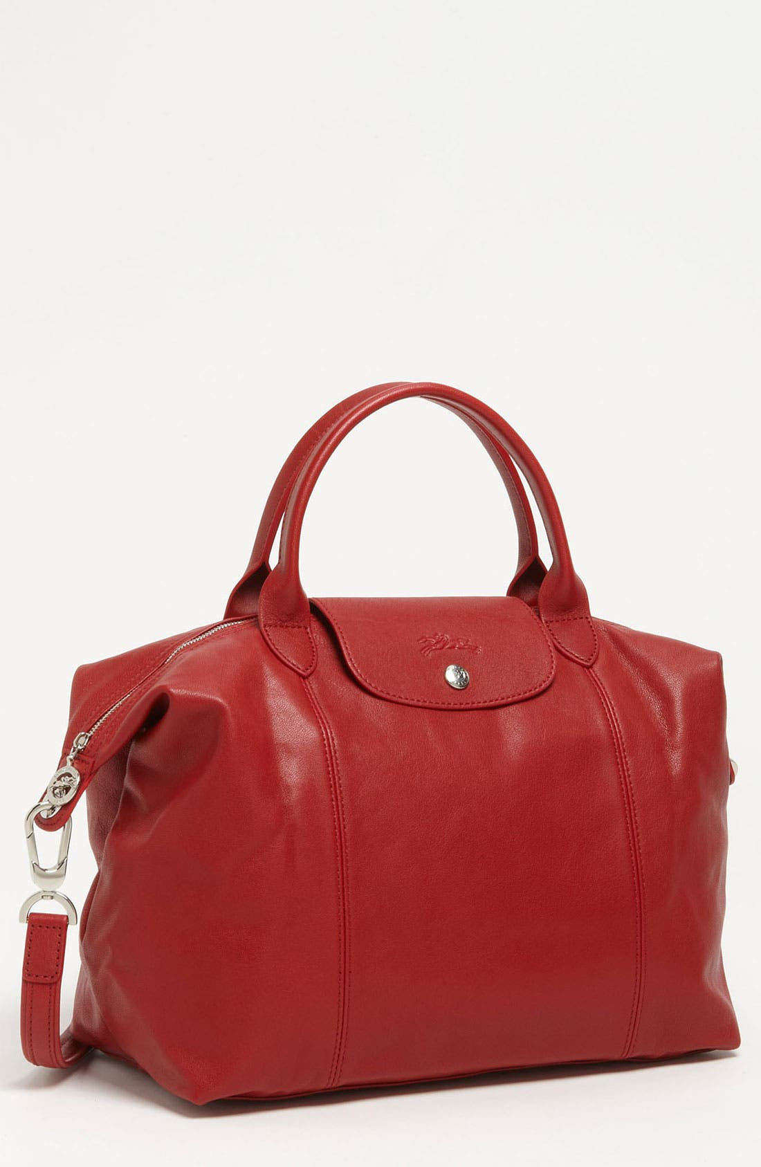 Medium 'Le Pliage Cuir' Leather Top Handle Tote,                             Main thumbnail 22, color,