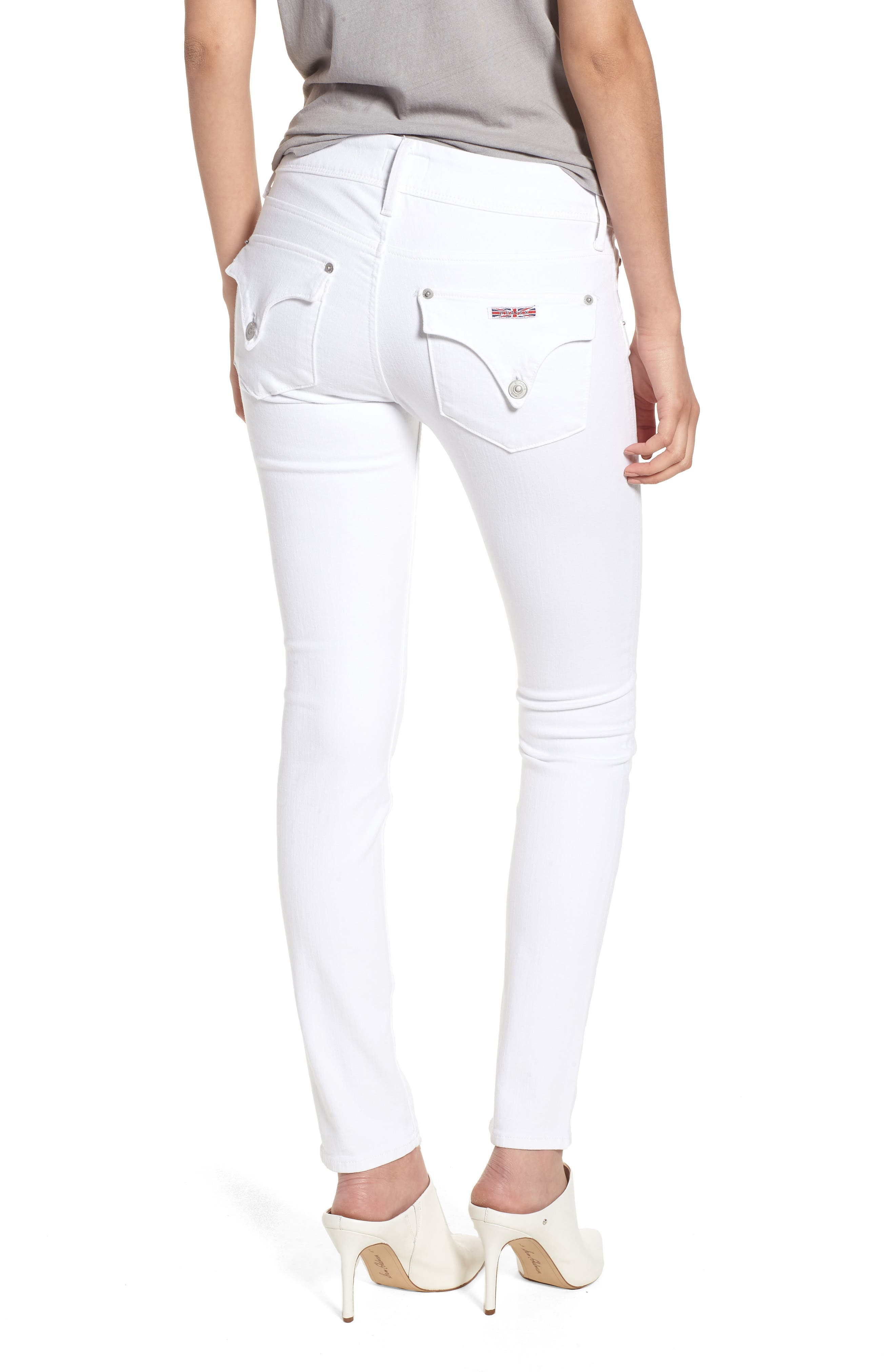 Collin Skinny Jeans,                             Alternate thumbnail 2, color,                             OPTICAL WHITE