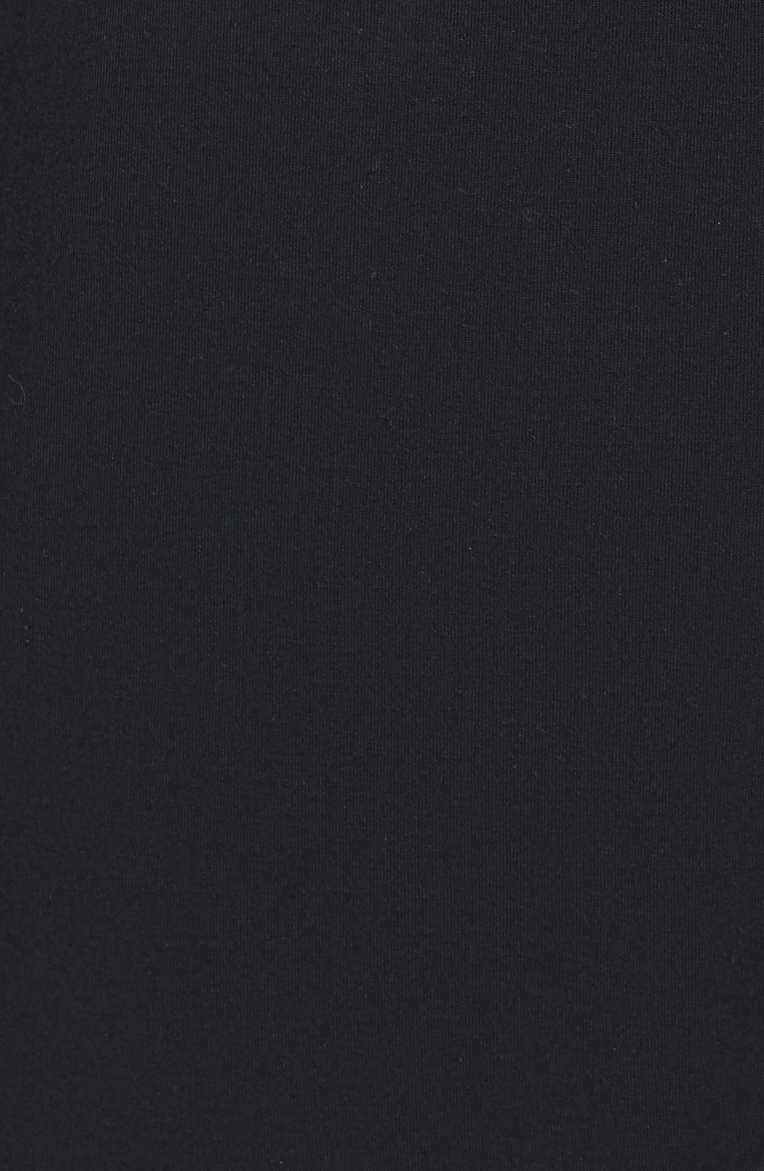 NORDSTROM LINGERIE,                             Nightshirt,                             Alternate thumbnail 5, color,                             BLACK