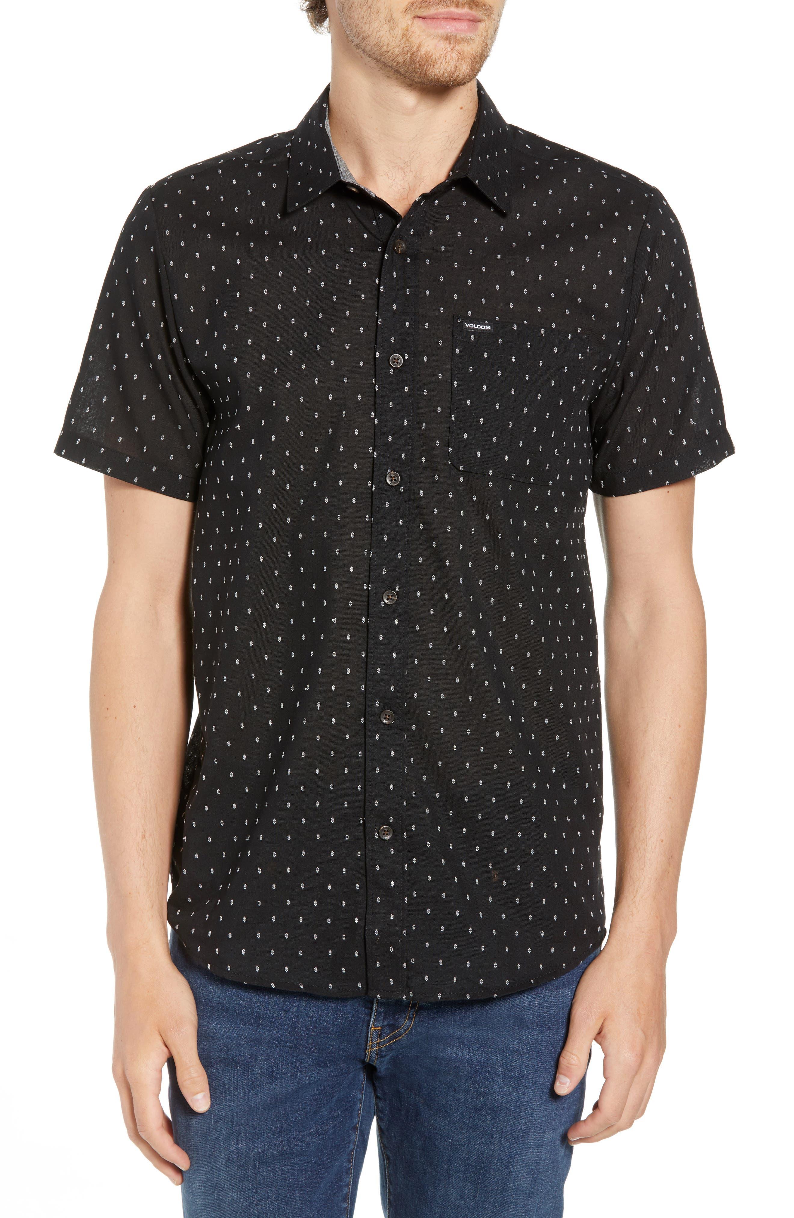 Dobler Woven Shirt,                             Main thumbnail 1, color,                             001