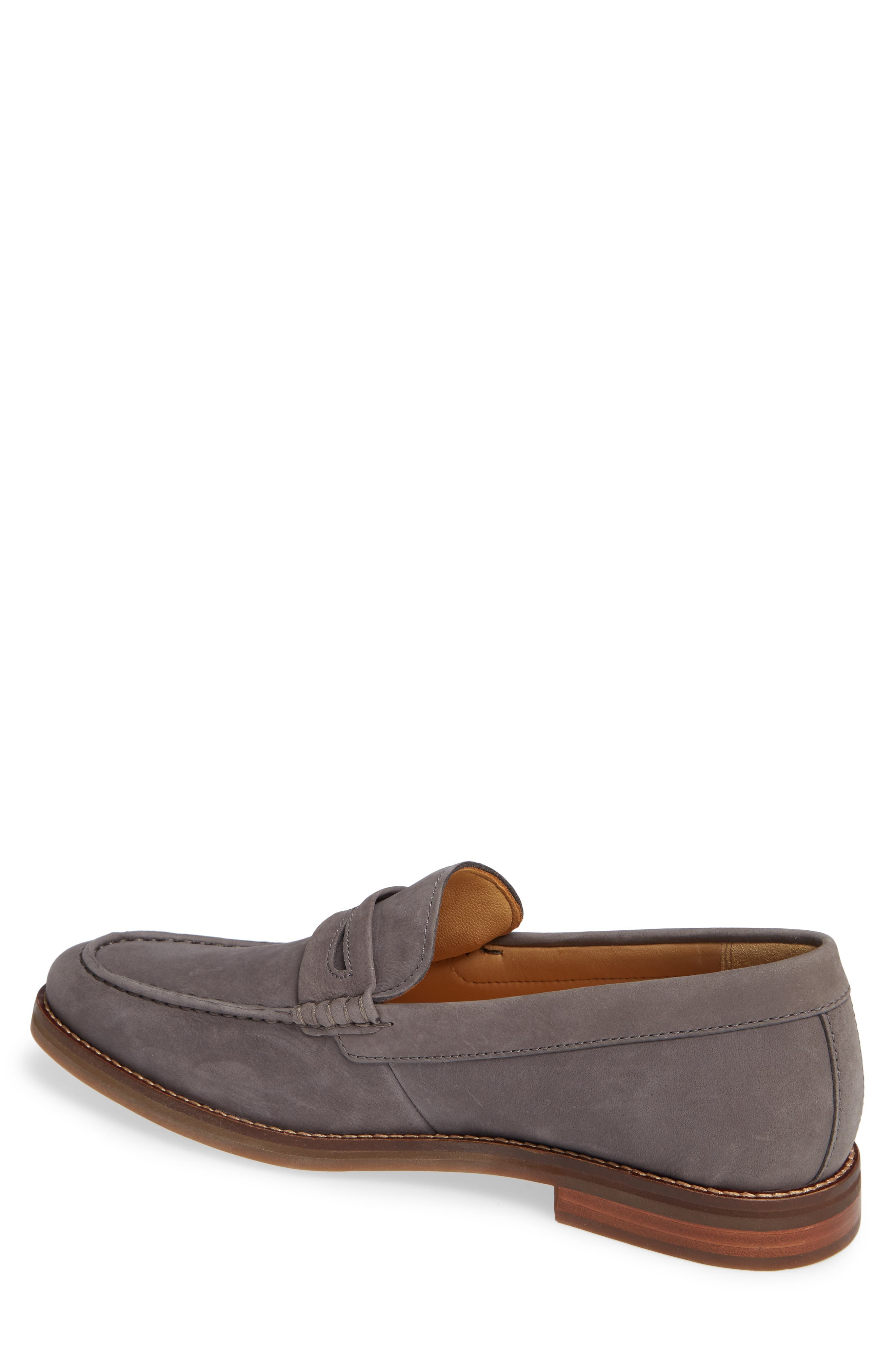 Gold Cup Exeter Penny Loafer,                             Alternate thumbnail 2, color,                             GREY