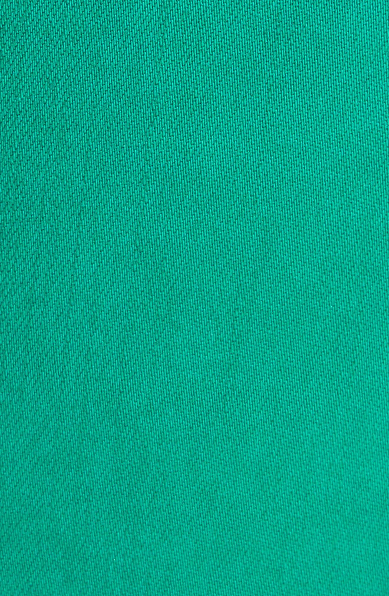 Margot Crop Skinny Jeans,                             Alternate thumbnail 5, color,                             EMERALD