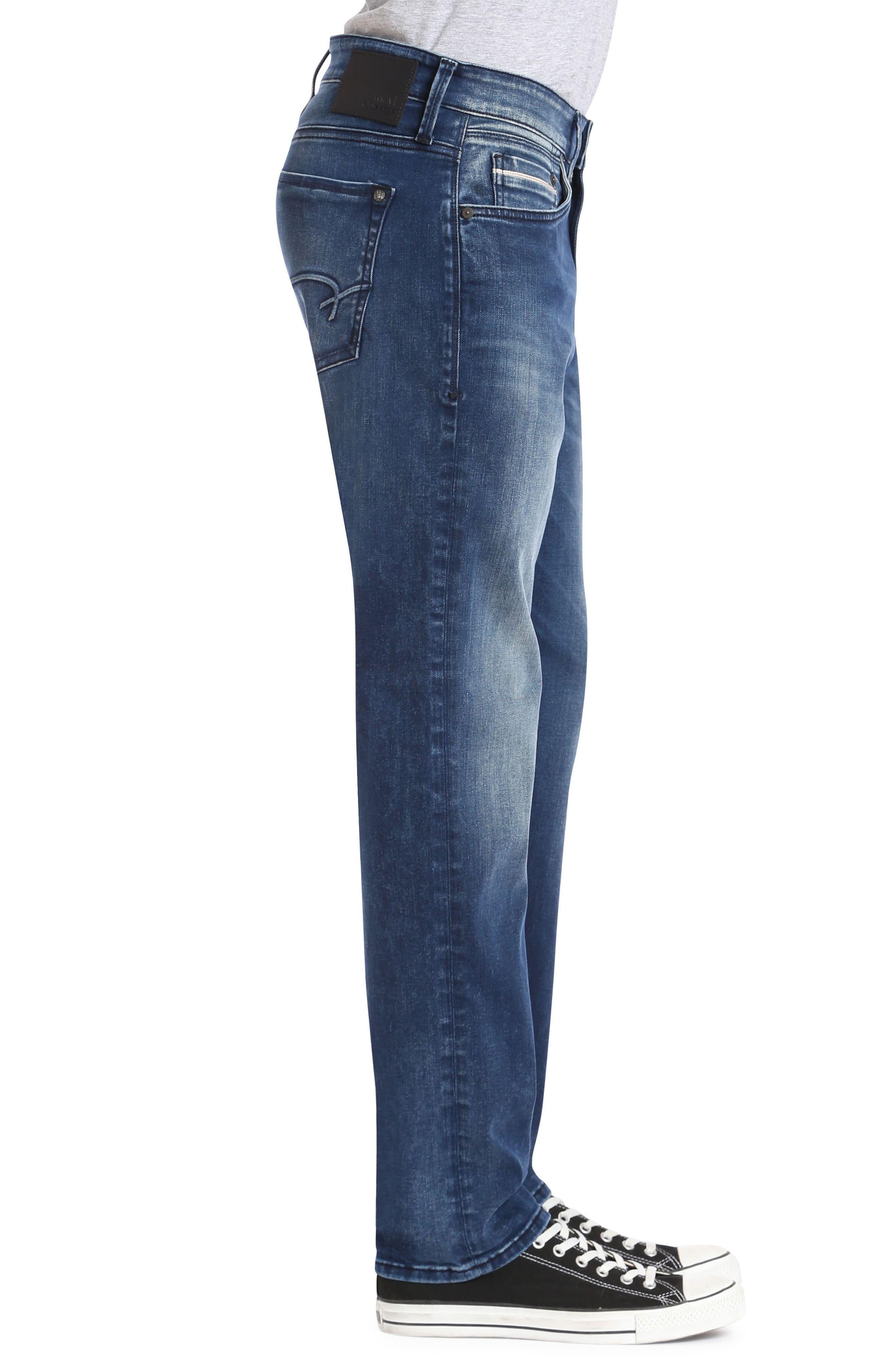 Marcus Slim Straight Leg Jeans,                             Alternate thumbnail 3, color,                             400