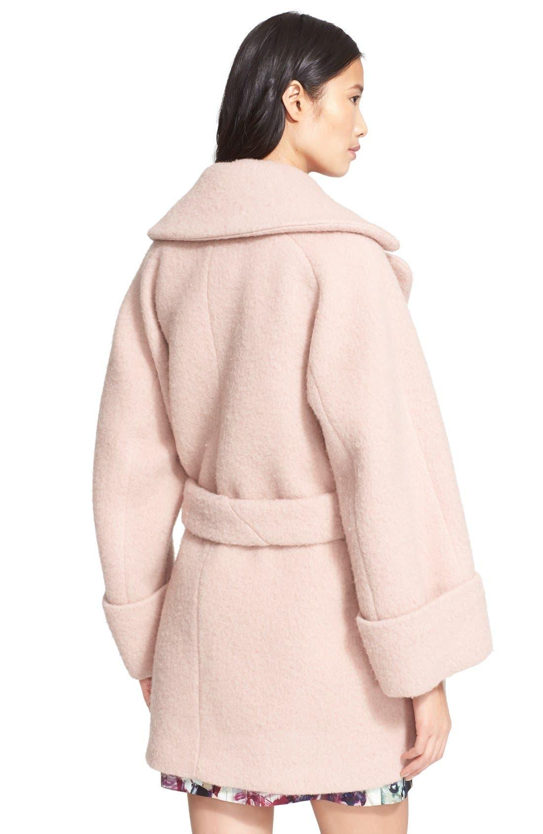 Oversize Cocoon Coat,                             Alternate thumbnail 2, color,                             670