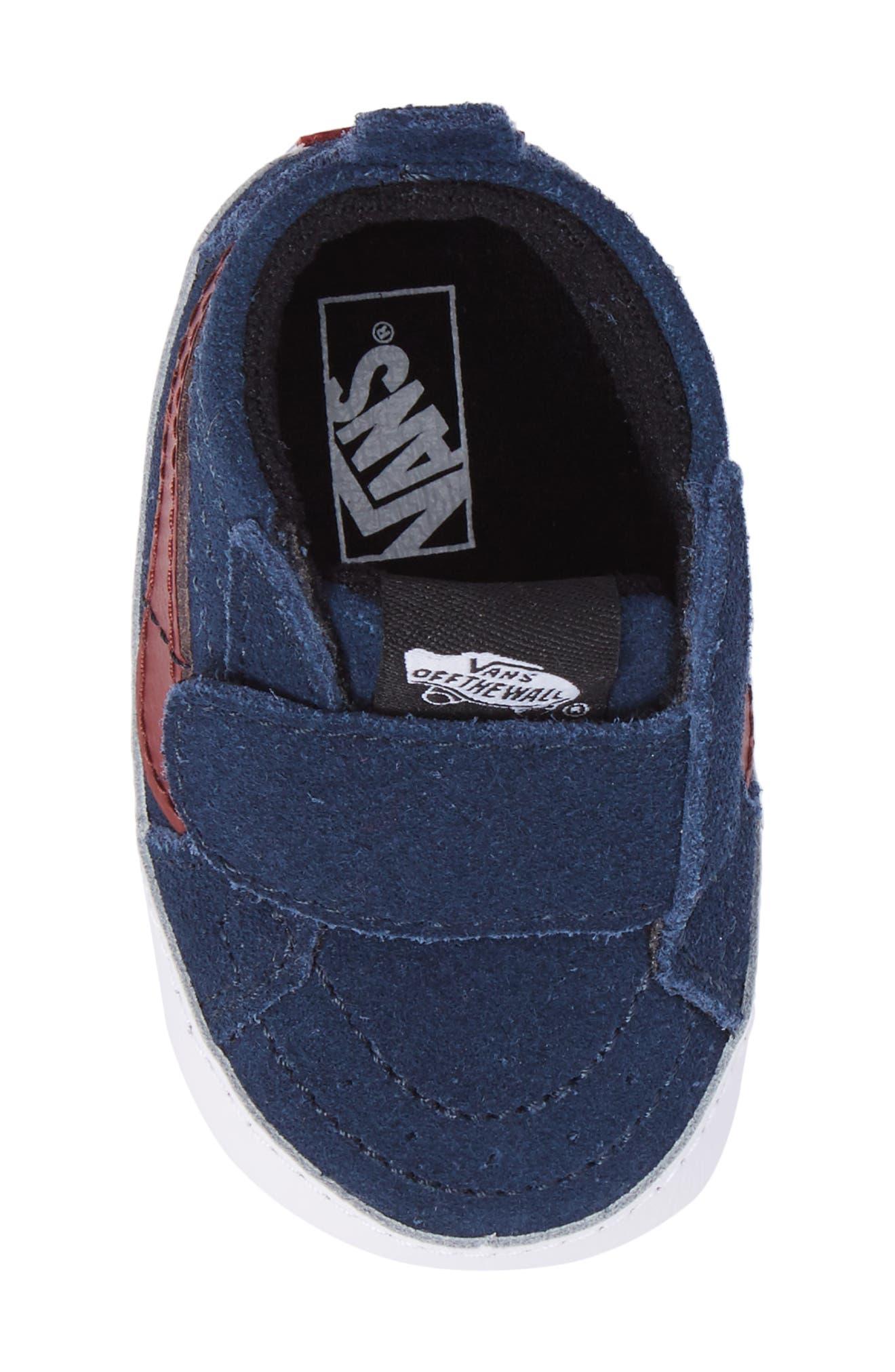 SK8-Hi Crib Sneaker,                             Alternate thumbnail 5, color,                             401